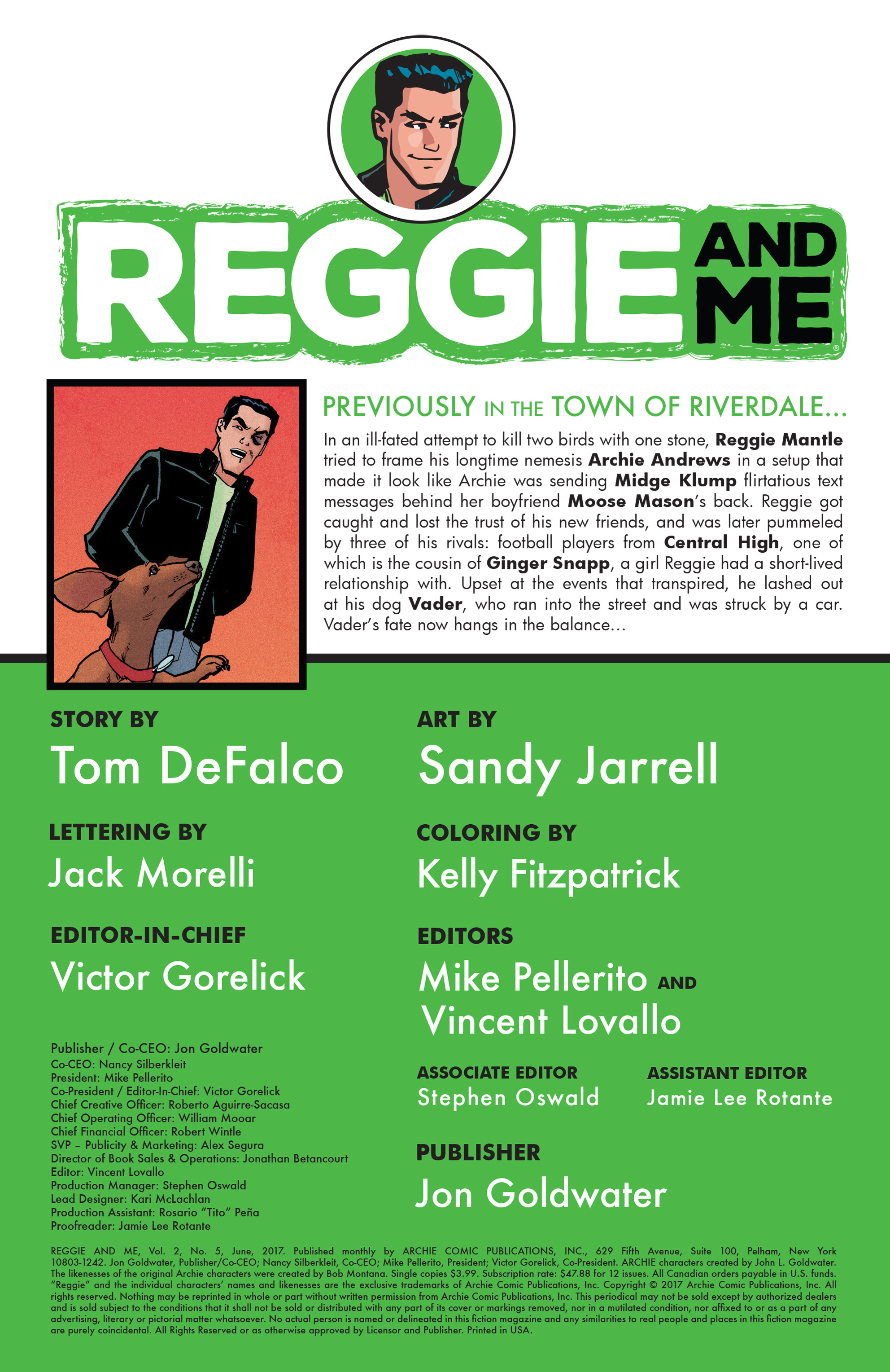 Read online Reggie and Me comic -  Issue #5 - 2