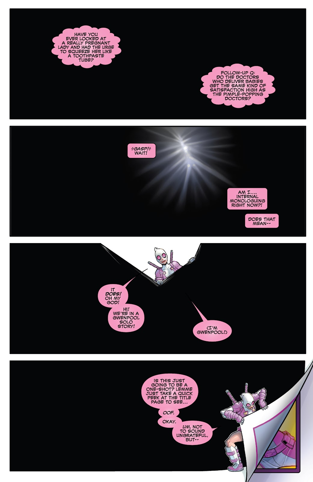 Gwenpool Strikes Back issue 1 - Page 2