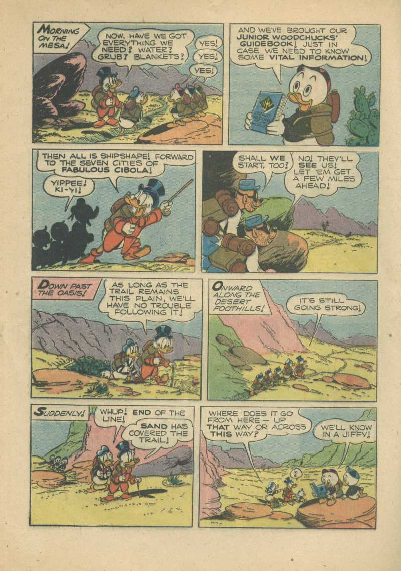 Read online Uncle Scrooge (1953) comic -  Issue #7 - 16