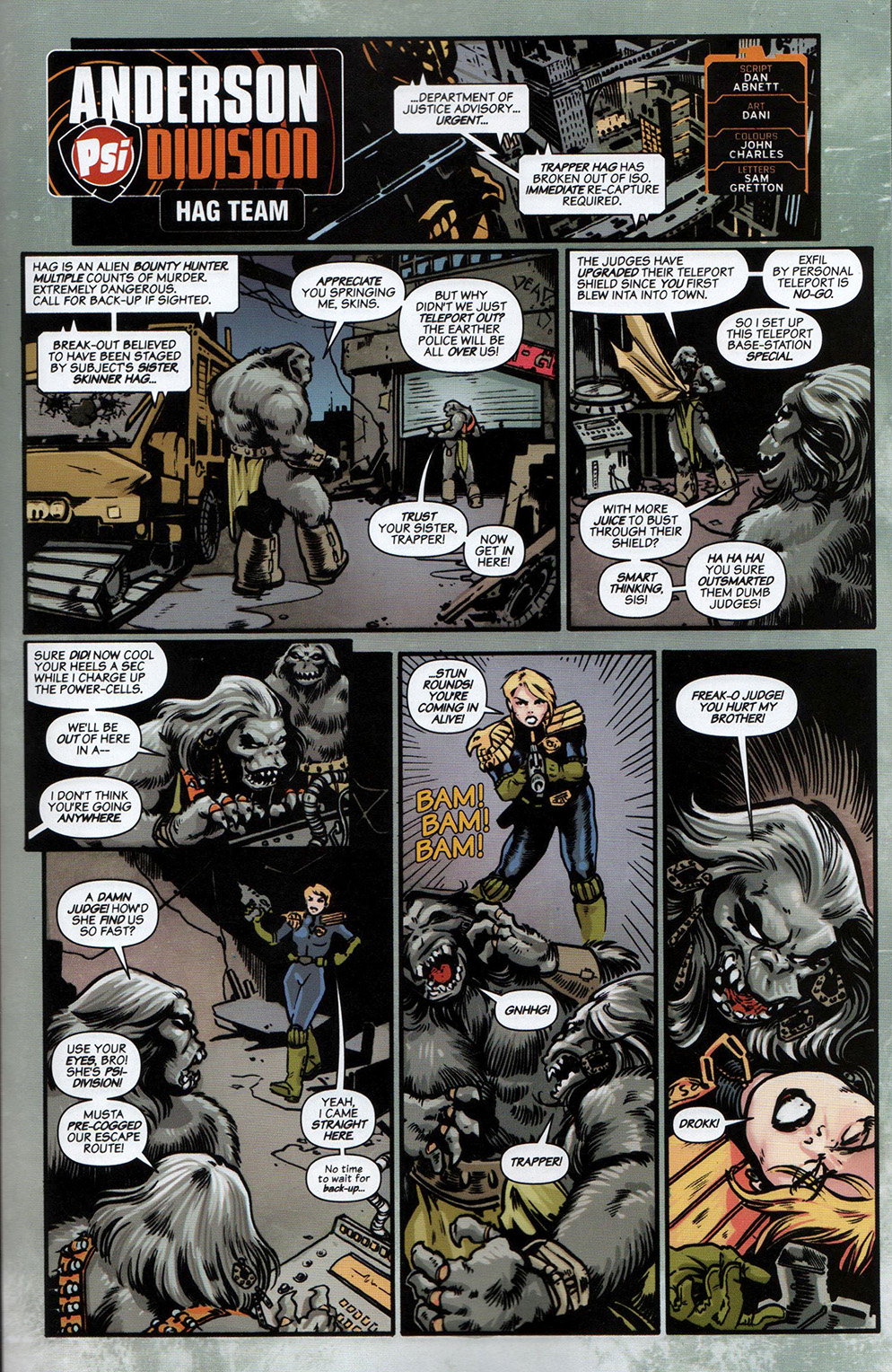 Read online Free Comic Book Day 2017 comic -  Issue # 2000 AD prog - 20
