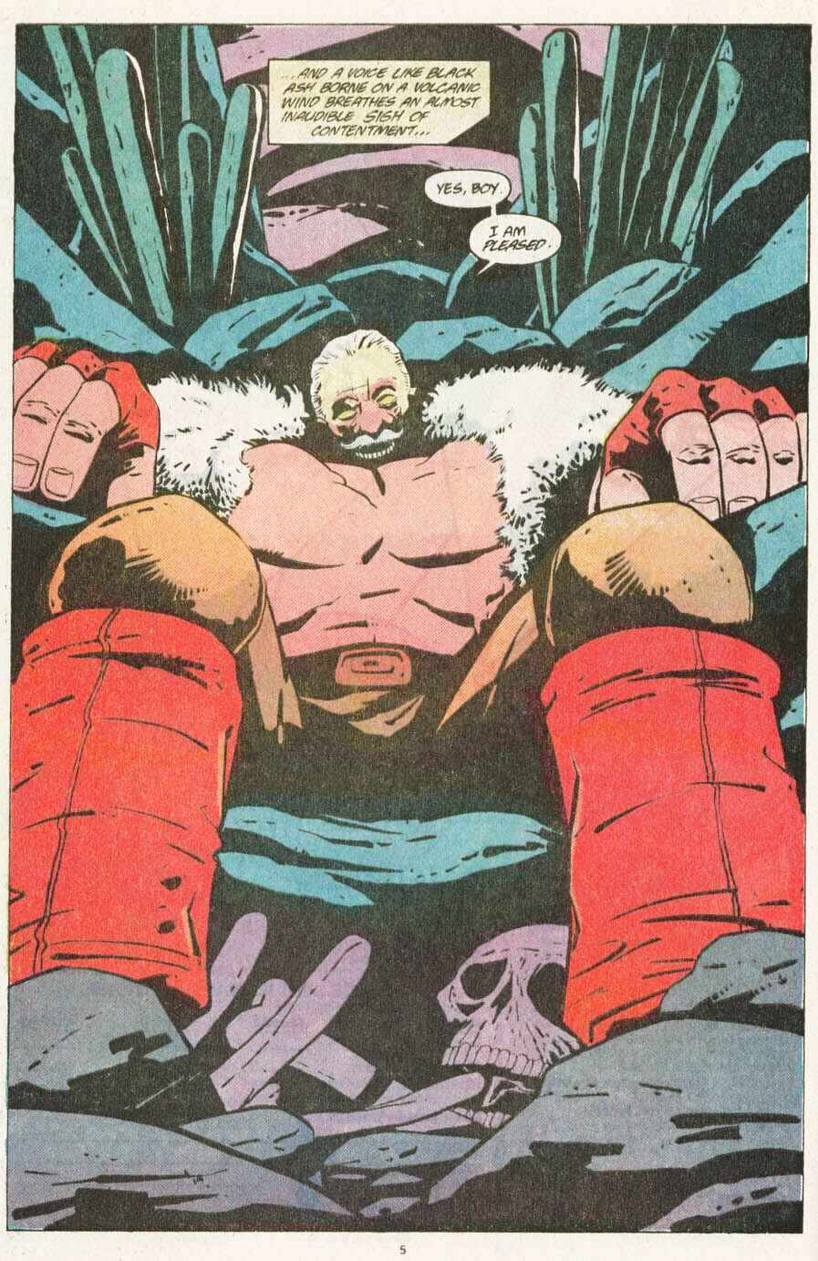 Read online Justice (1986) comic -  Issue #10 - 6
