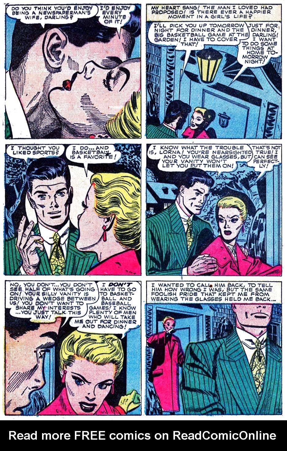 Love Romances (1949) issue 52 - Page 14