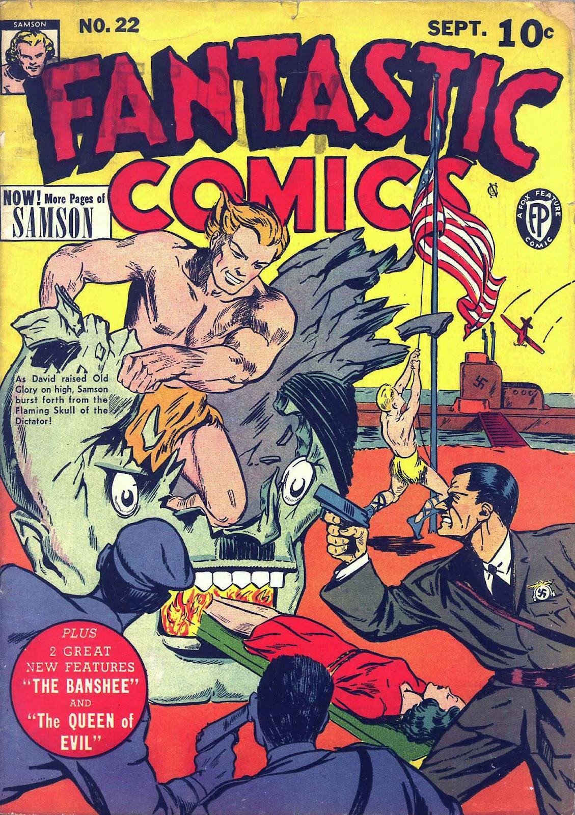 Fantastic Comics 22 Page 1