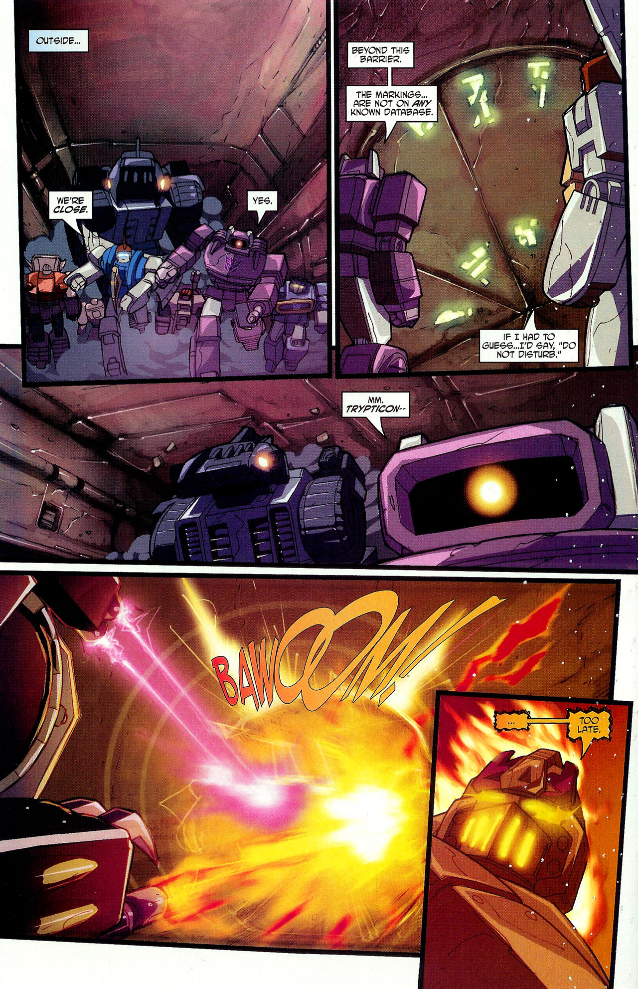 "Read online Transformers War Within: ""The Dark Ages"" comic -  Issue #6 - 15"