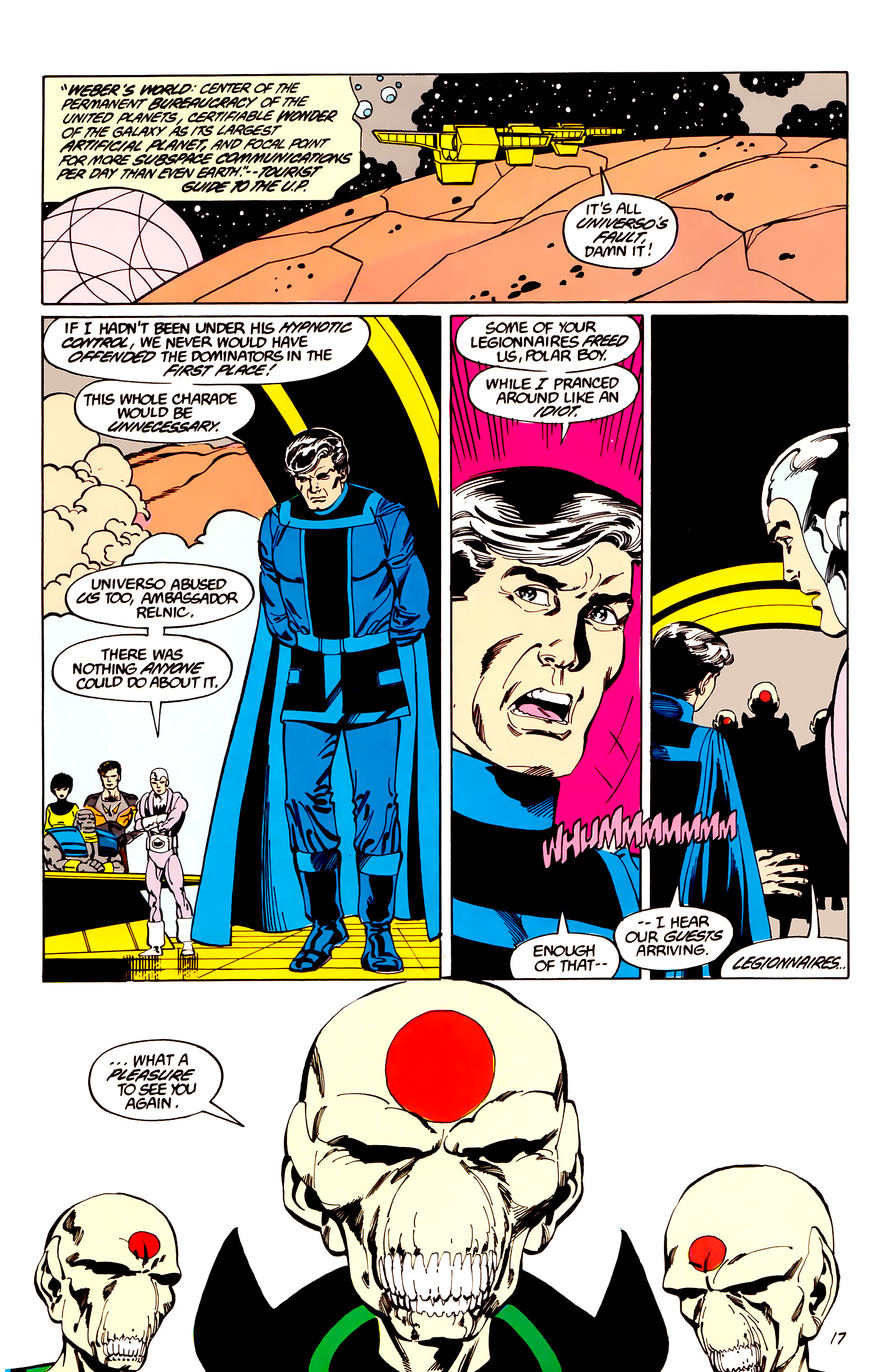 Legion of Super-Heroes (1984) _Annual_3 Page 17