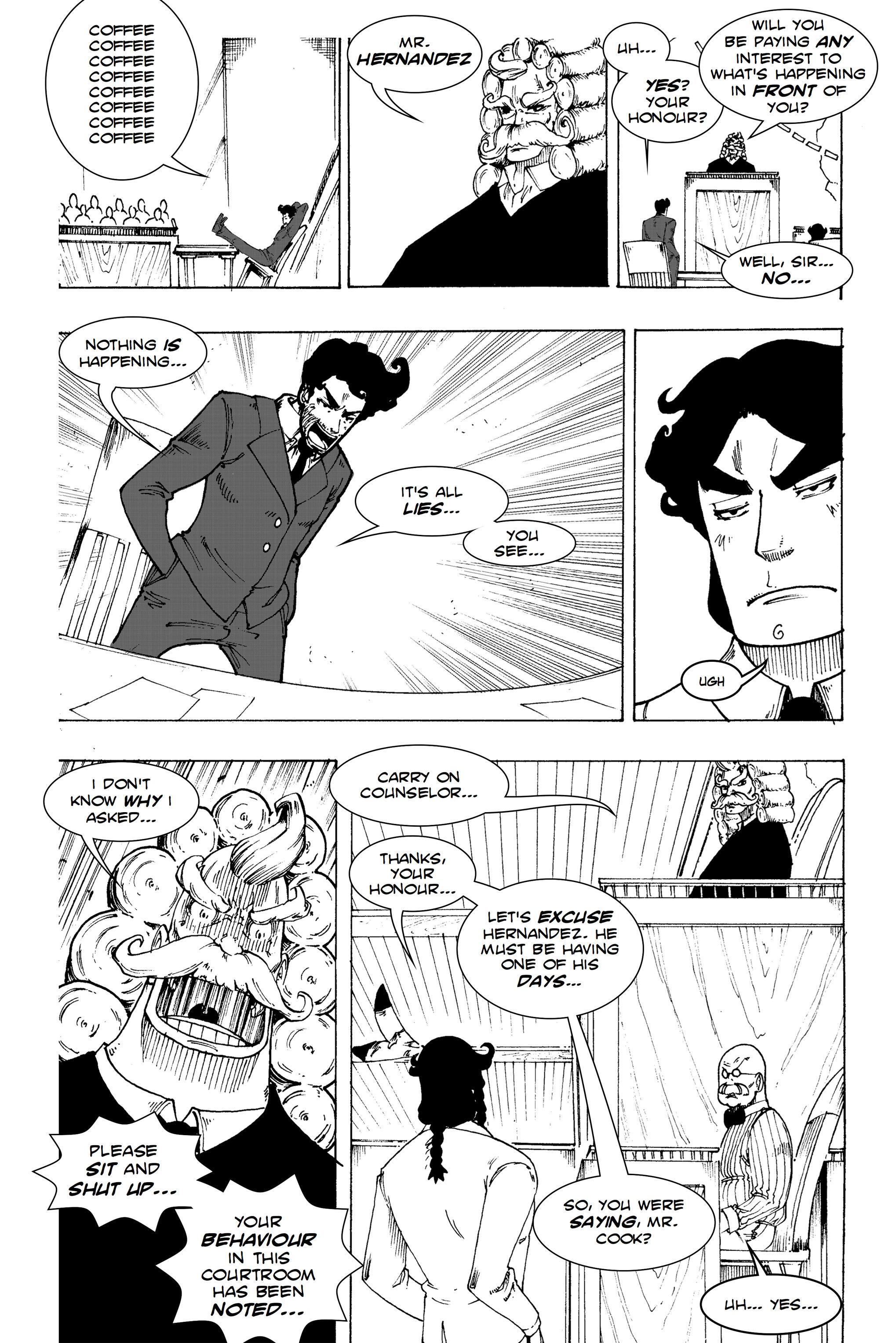 Read online Silvertongue 30xx Vol. 1 comic -  Issue # Full - 46