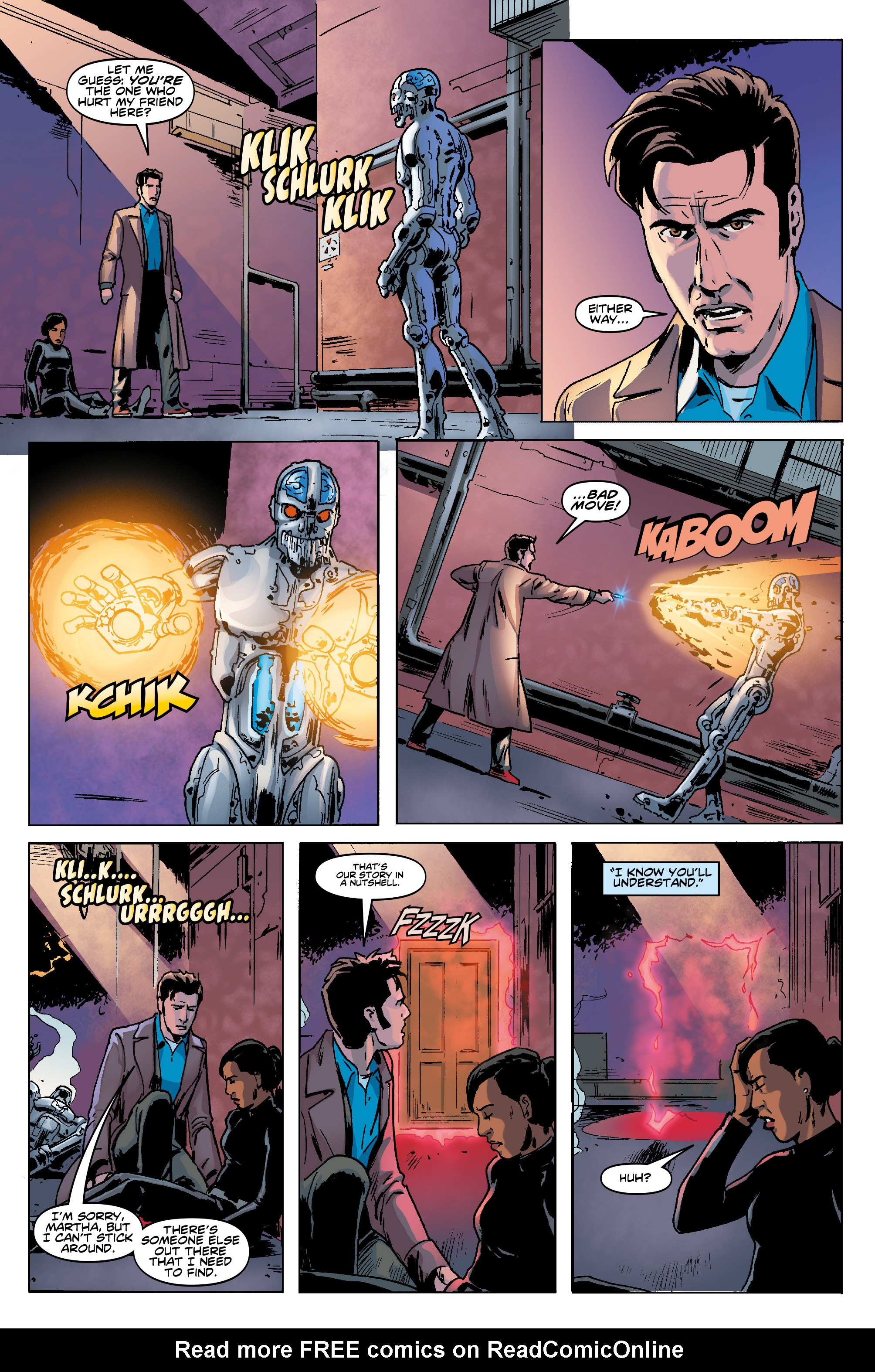 Read online Doctor Who: The Tenth Doctor Year Three comic -  Issue #5 - 20
