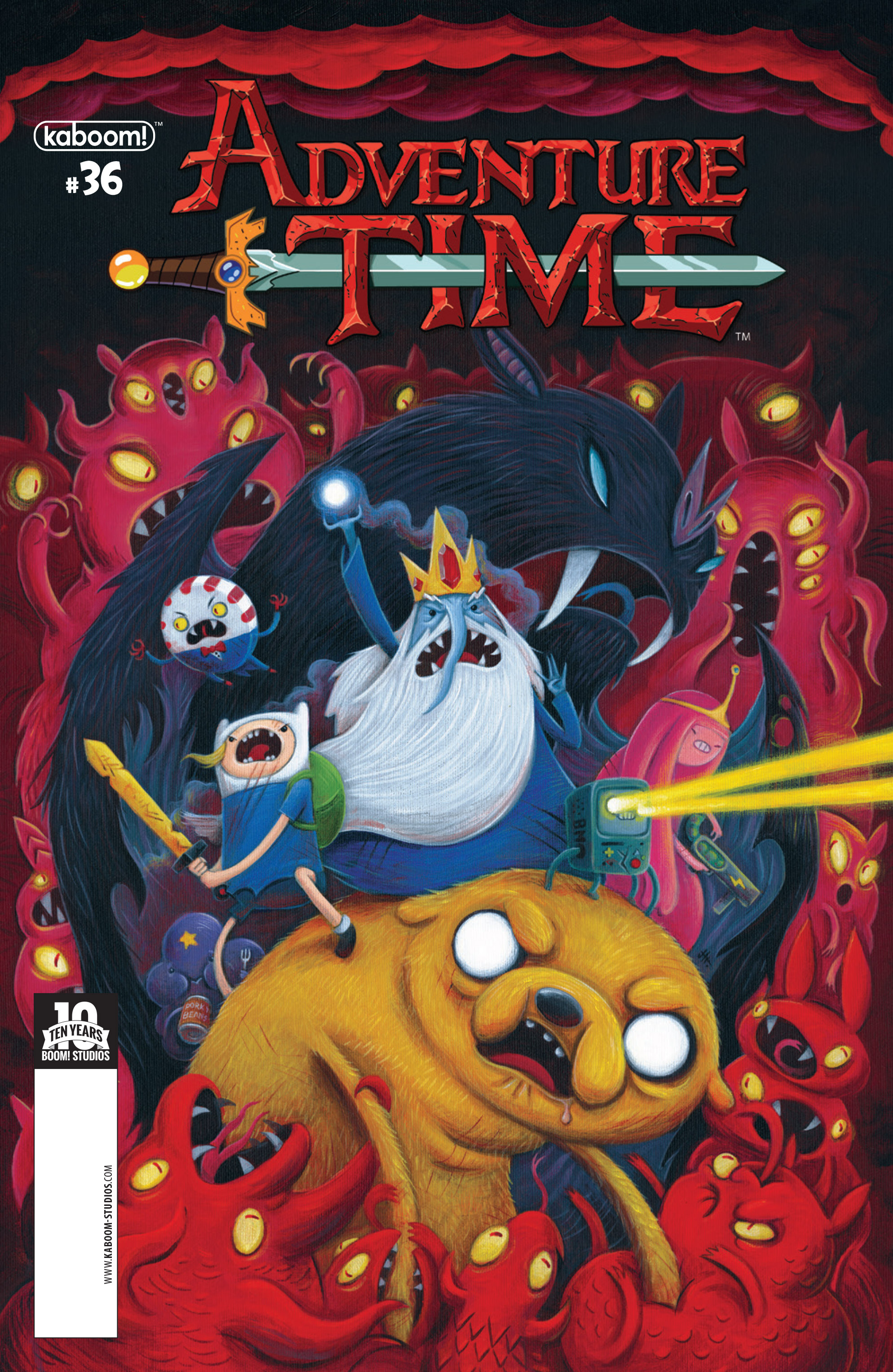 Read online Adventure Time comic -  Issue #36 - 1
