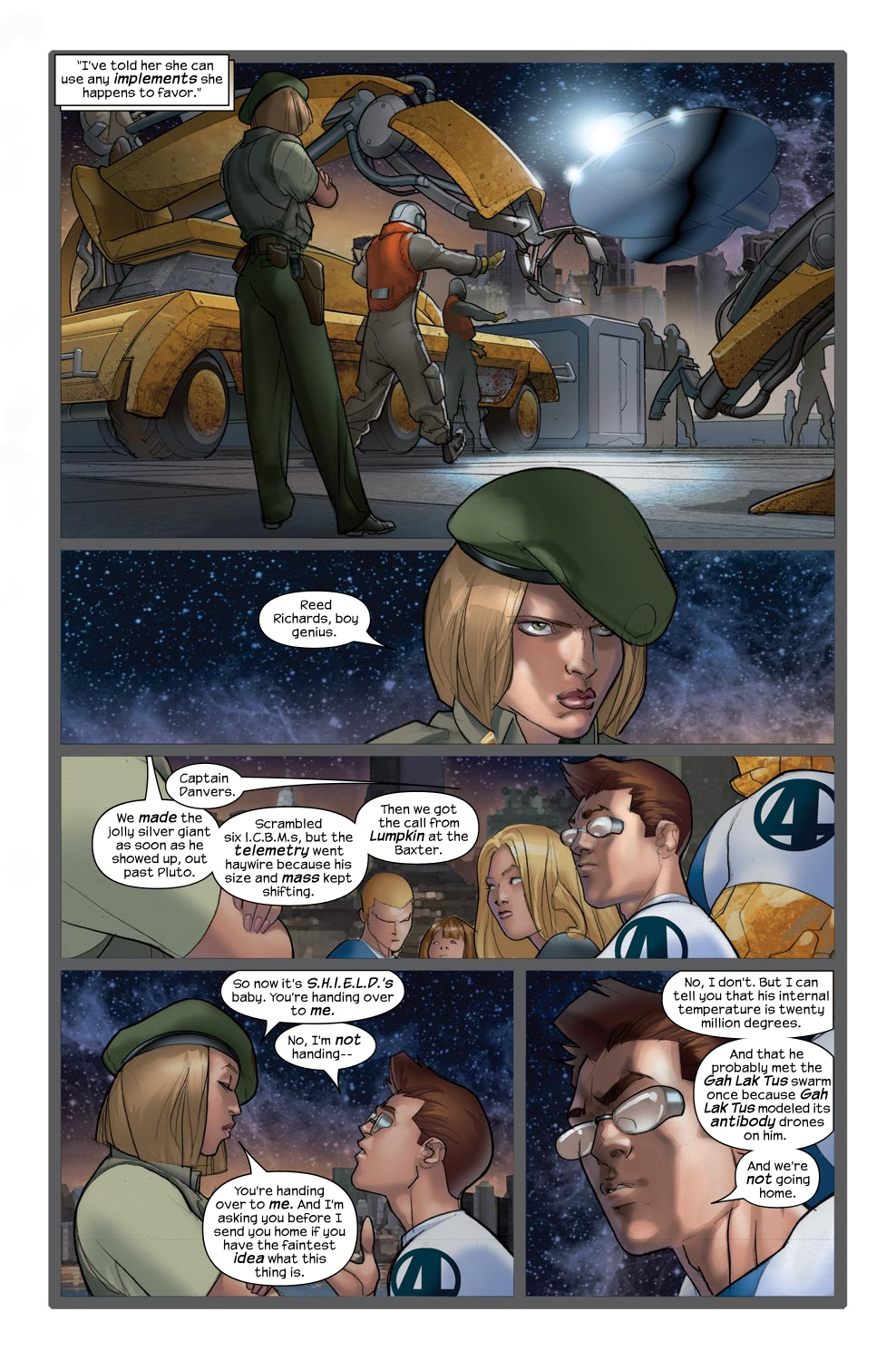 Read online Ultimate Fantastic Four (2004) comic -  Issue #43 - 15