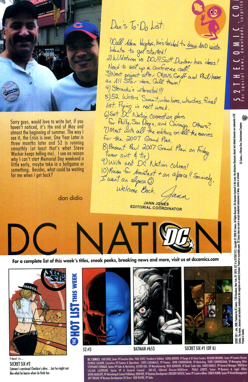Read online Secret Six (2006) comic -  Issue #1 - 24