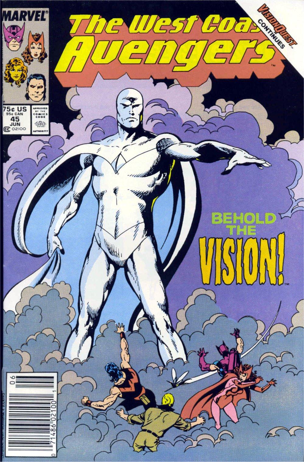 West Coast Avengers (1985) 45 Page 1