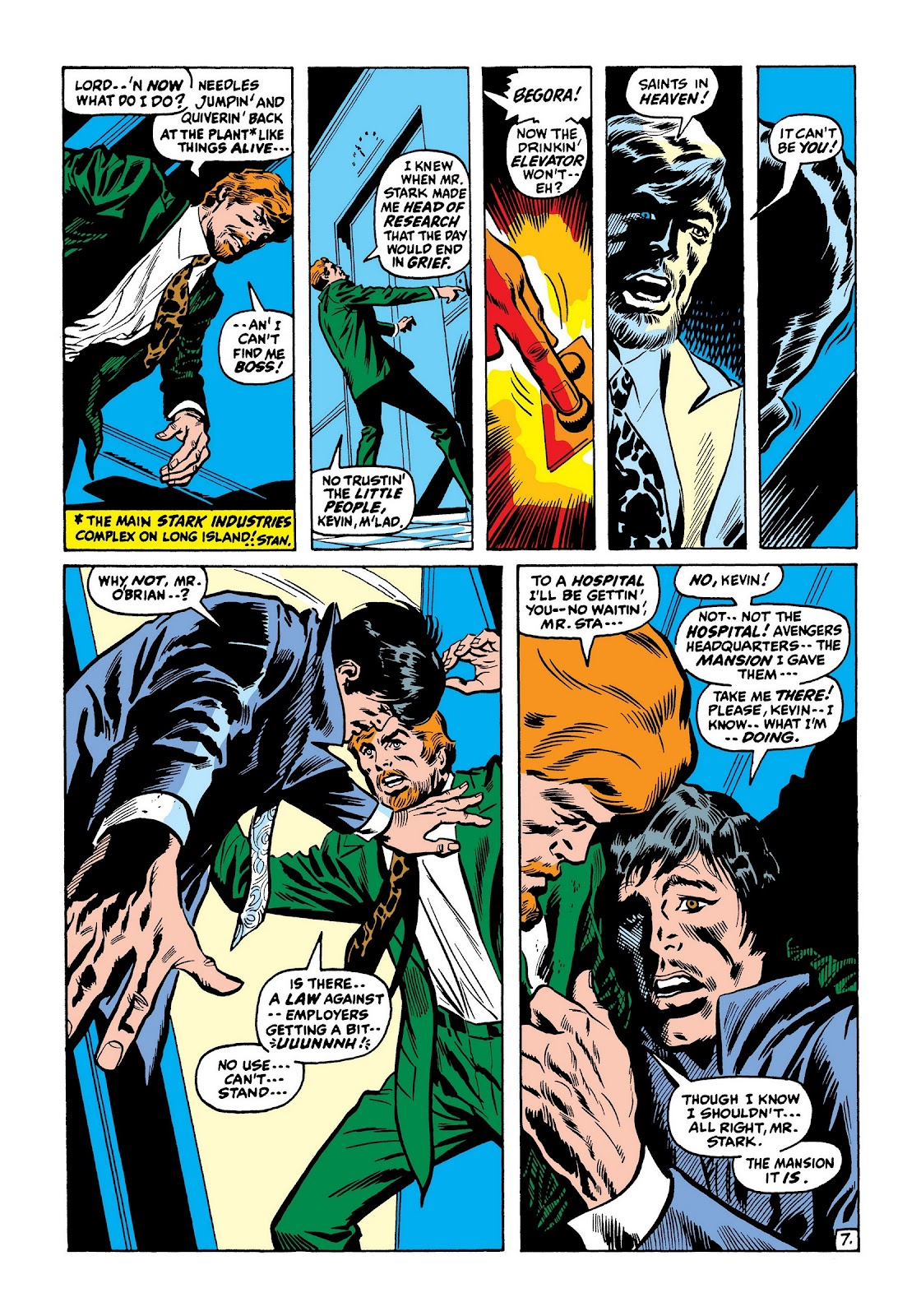 Read online Marvel Masterworks: The Invincible Iron Man comic -  Issue # TPB 7 (Part 3) - 56