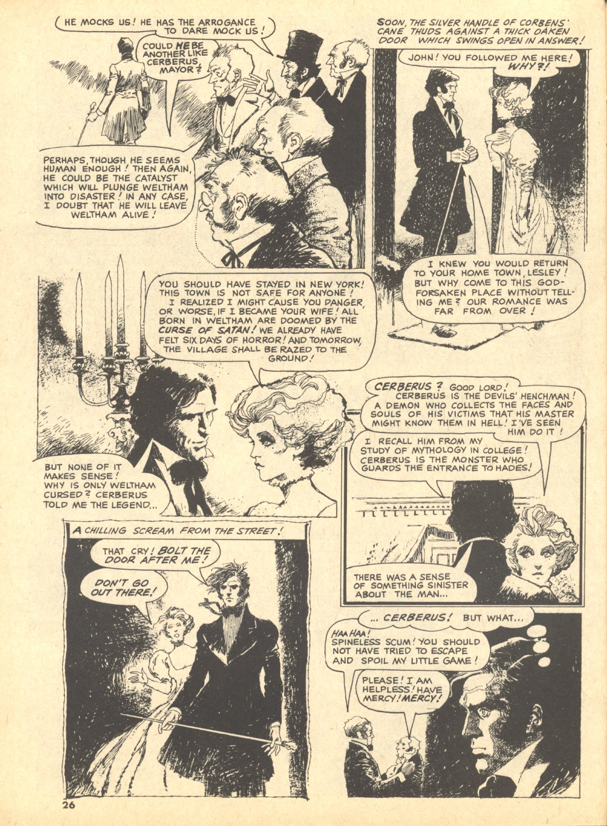 Creepy 1964 Issue 46 | Viewcomic reading comics online for