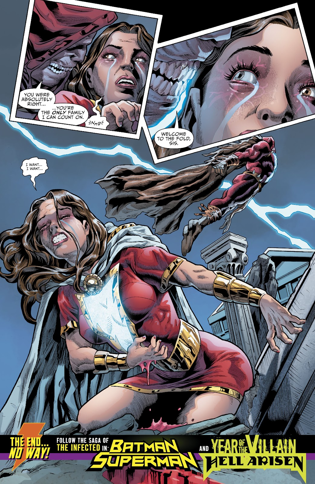 Read online The Infected: King Shazam comic -  Issue # Full - 22