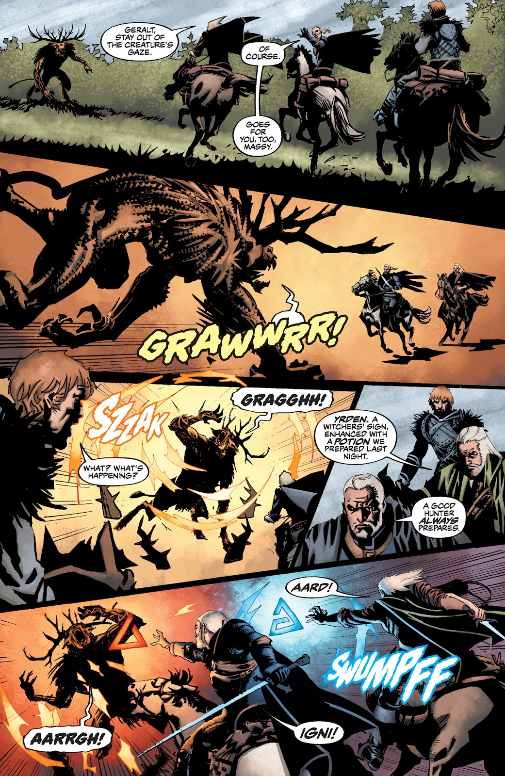 Read online The Witcher Omnibus comic -  Issue # TPB (Part 3) - 89