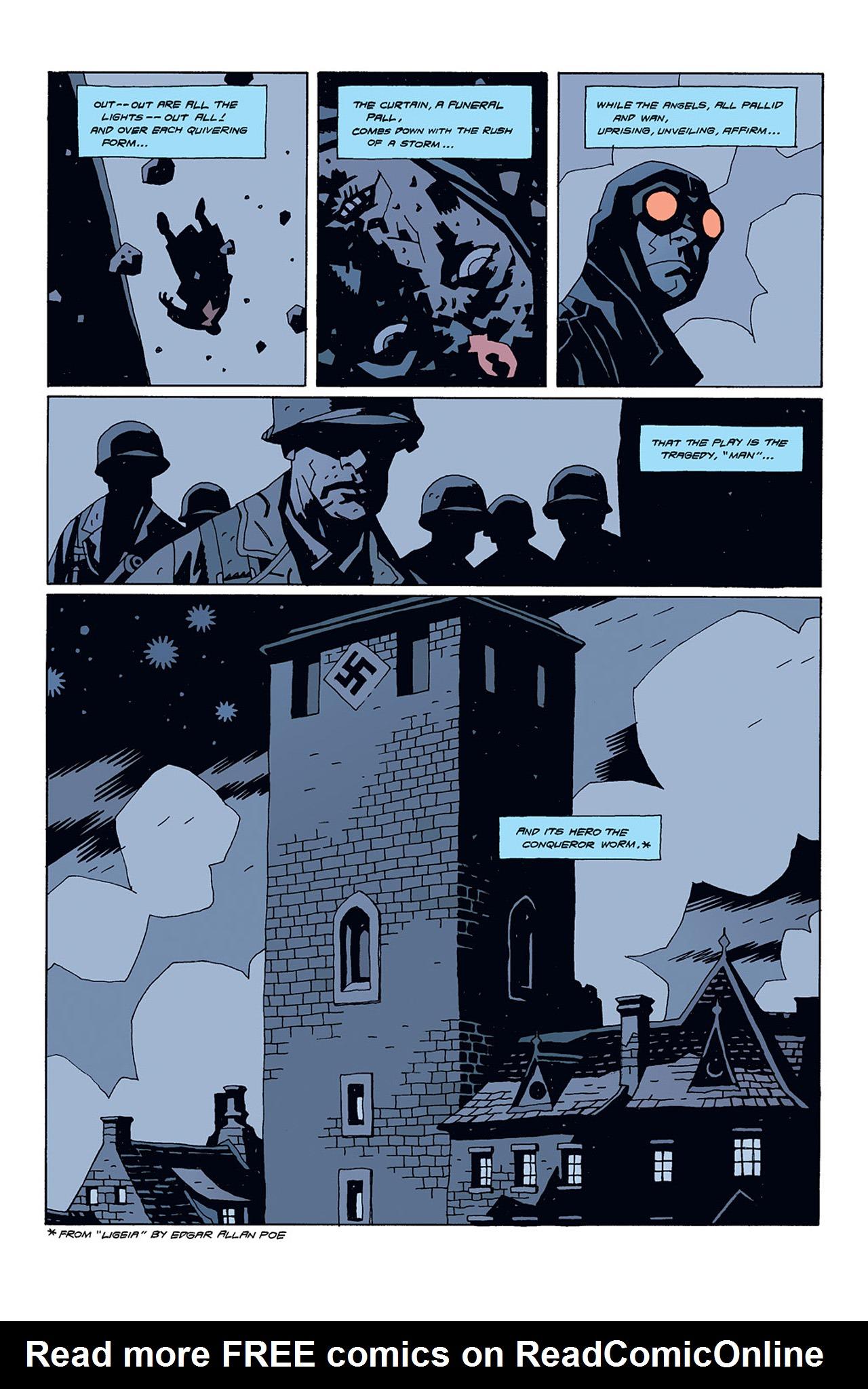 Read online Hellboy: Conqueror Worm comic -  Issue #1 - 5