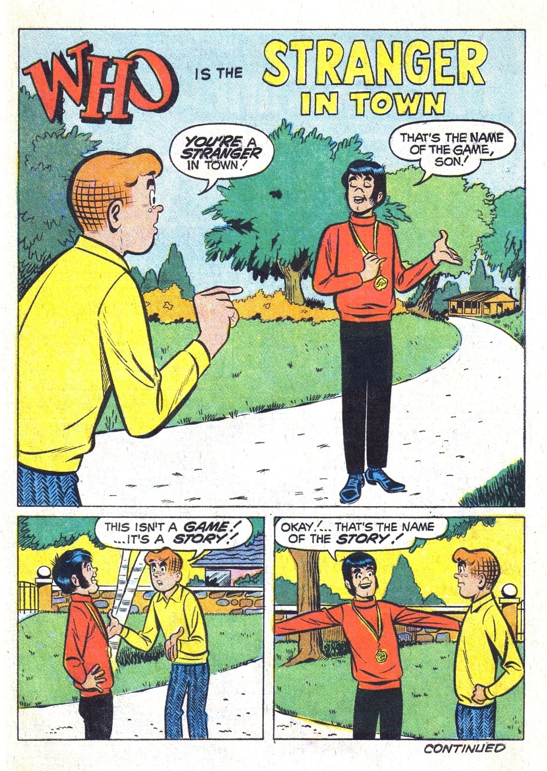 Read online Archie (1960) comic -  Issue #193 - 27