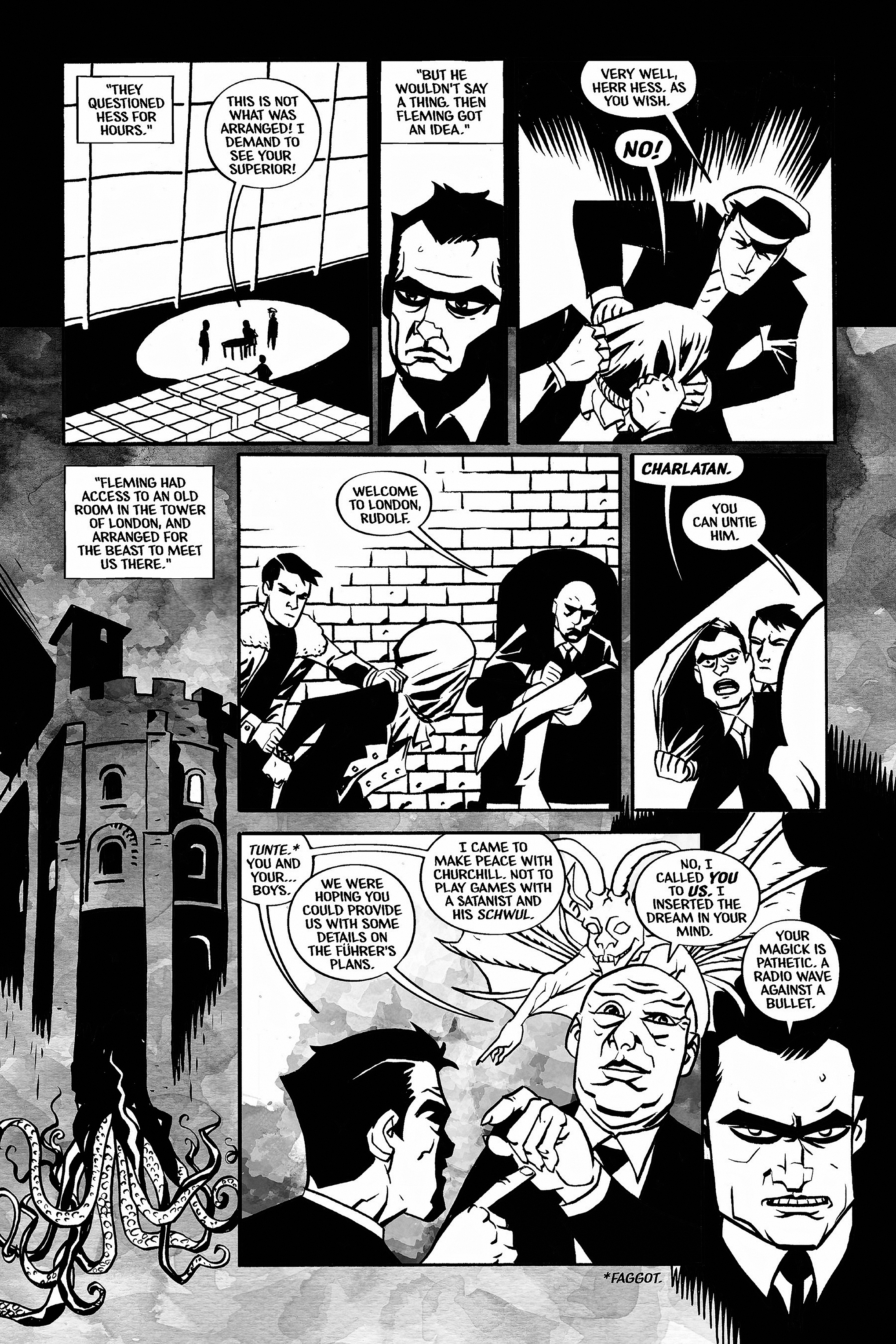Read online Aleister & Adolf comic -  Issue # TPB - 41