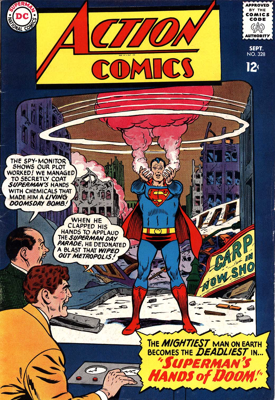 Read online Action Comics (1938) comic -  Issue #328 - 1