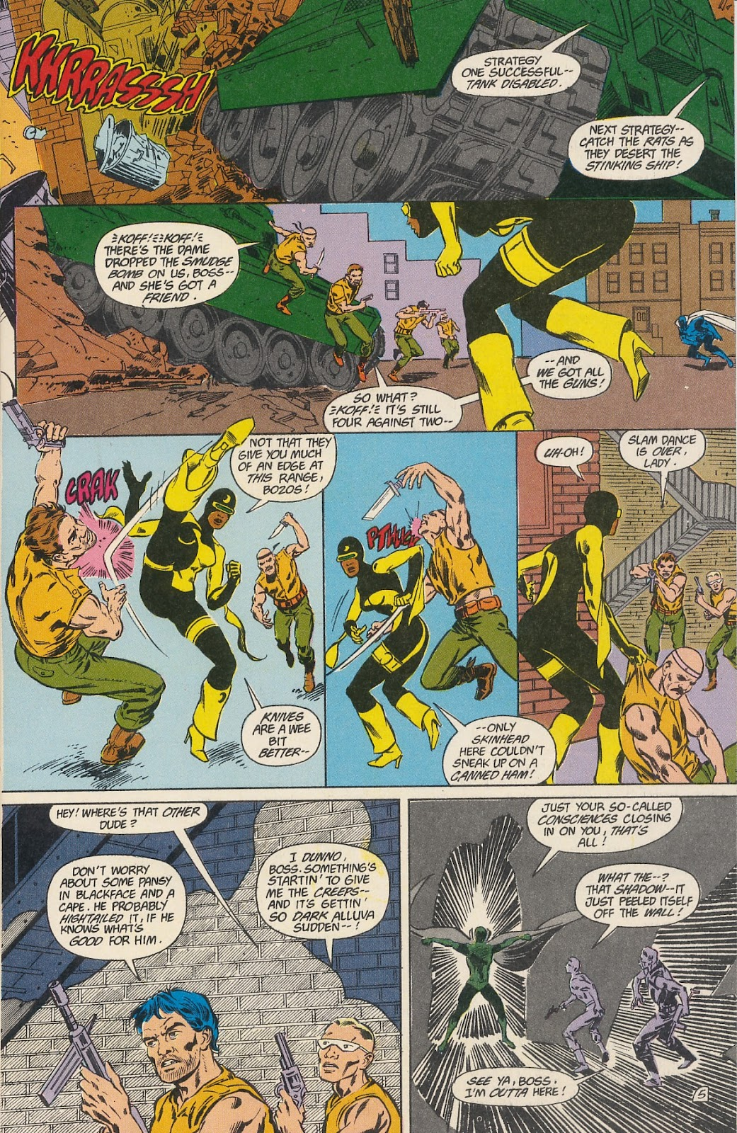 Infinity Inc. (1984) issue 40 - Page 7
