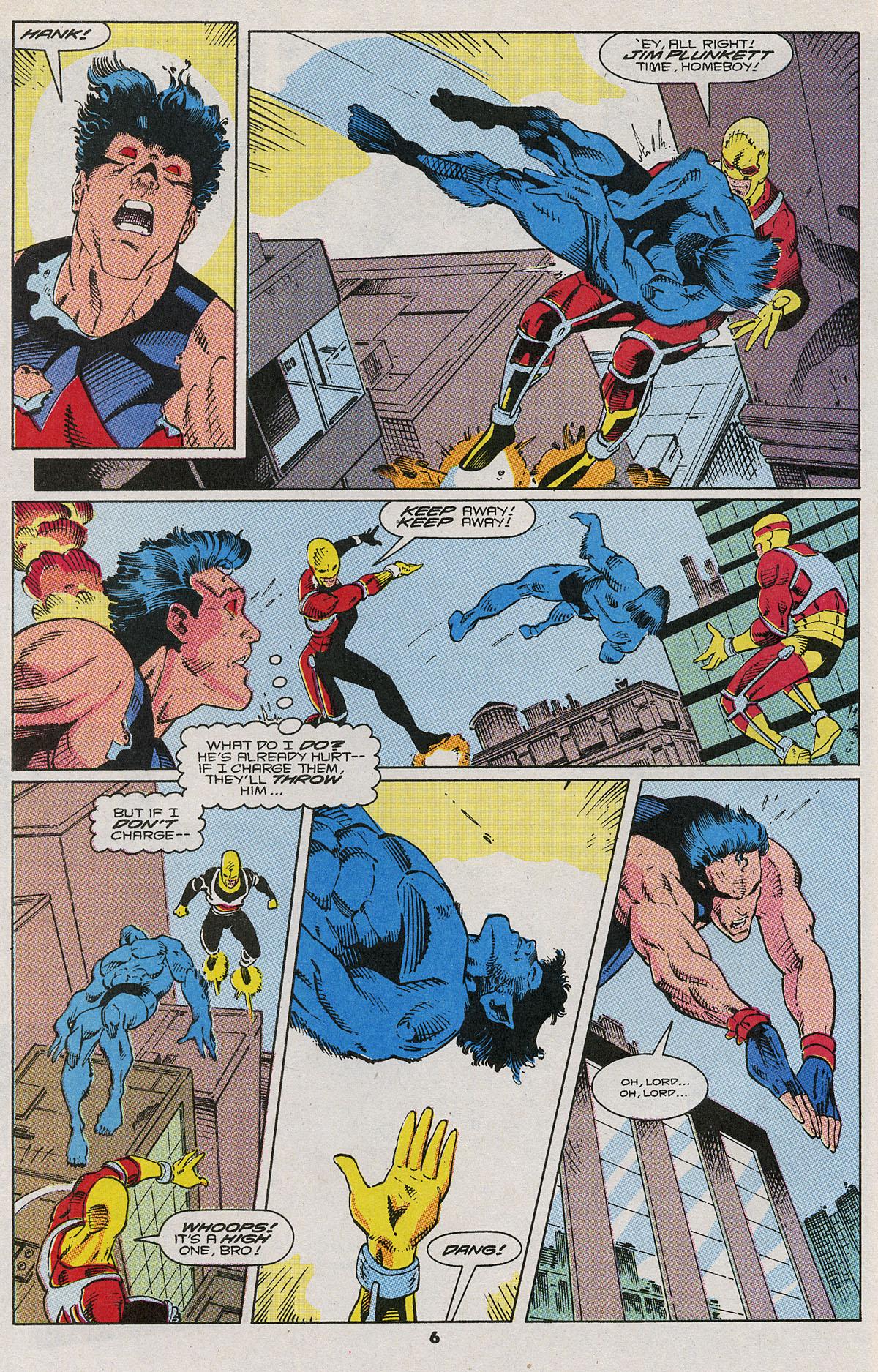 Read online Wonder Man (1991) comic -  Issue #6 - 6