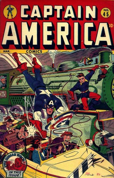 Captain America Comics 45 Page 1