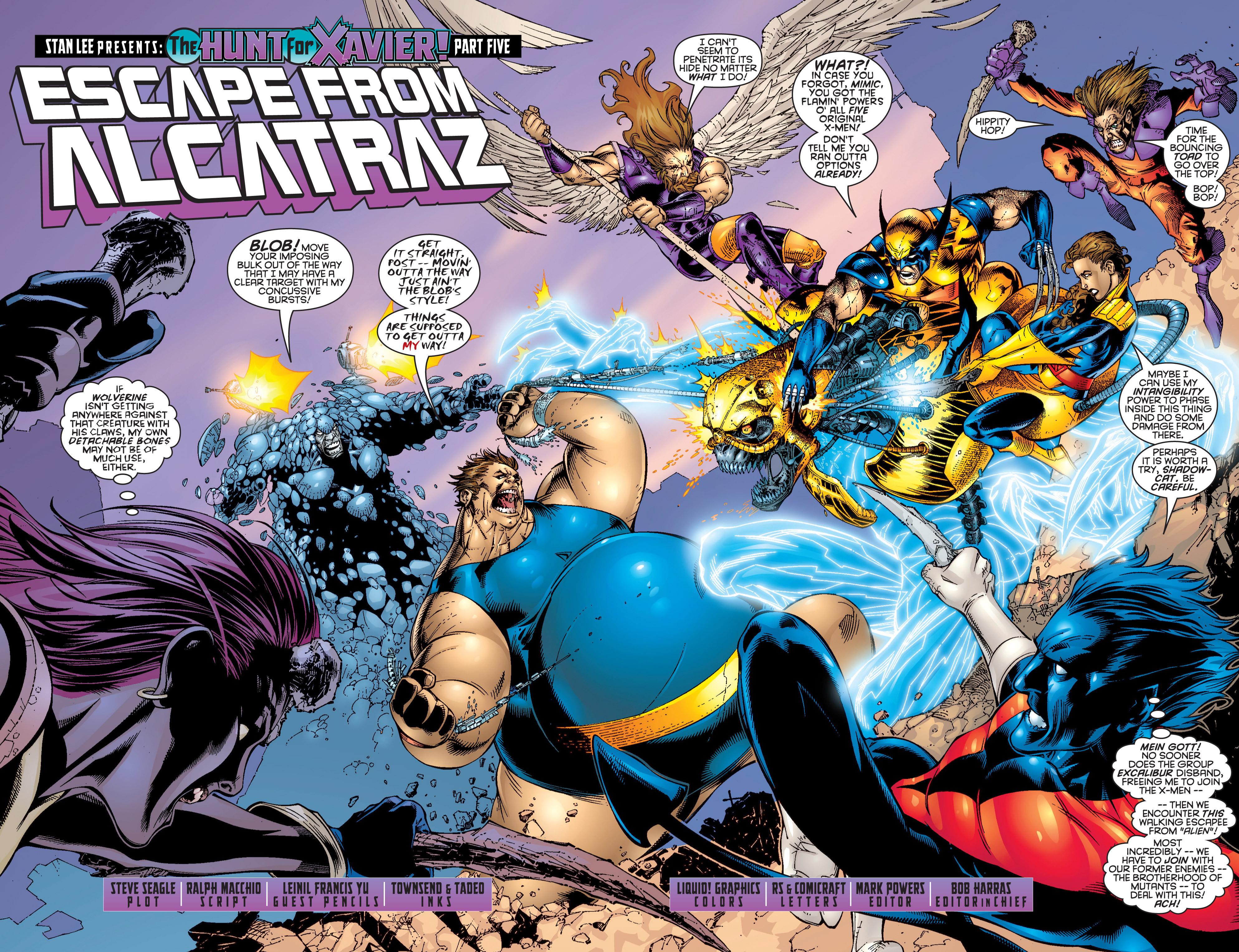 Read online Uncanny X-Men (1963) comic -  Issue #364 - 7