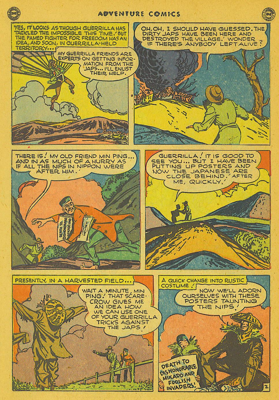 Read online Adventure Comics (1938) comic -  Issue #102 - 34