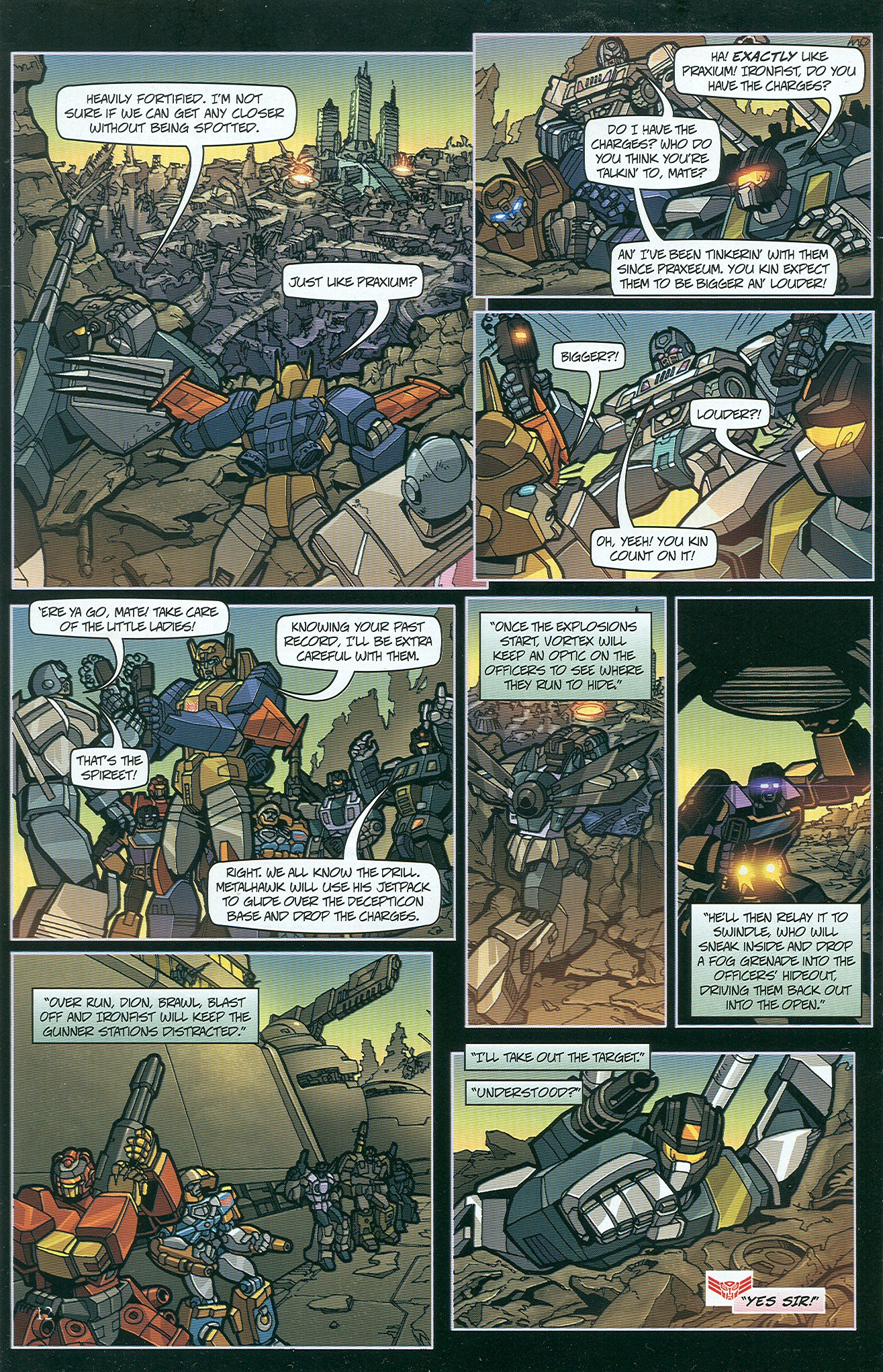 Read online Transformers: Collectors' Club comic -  Issue #33 - 12