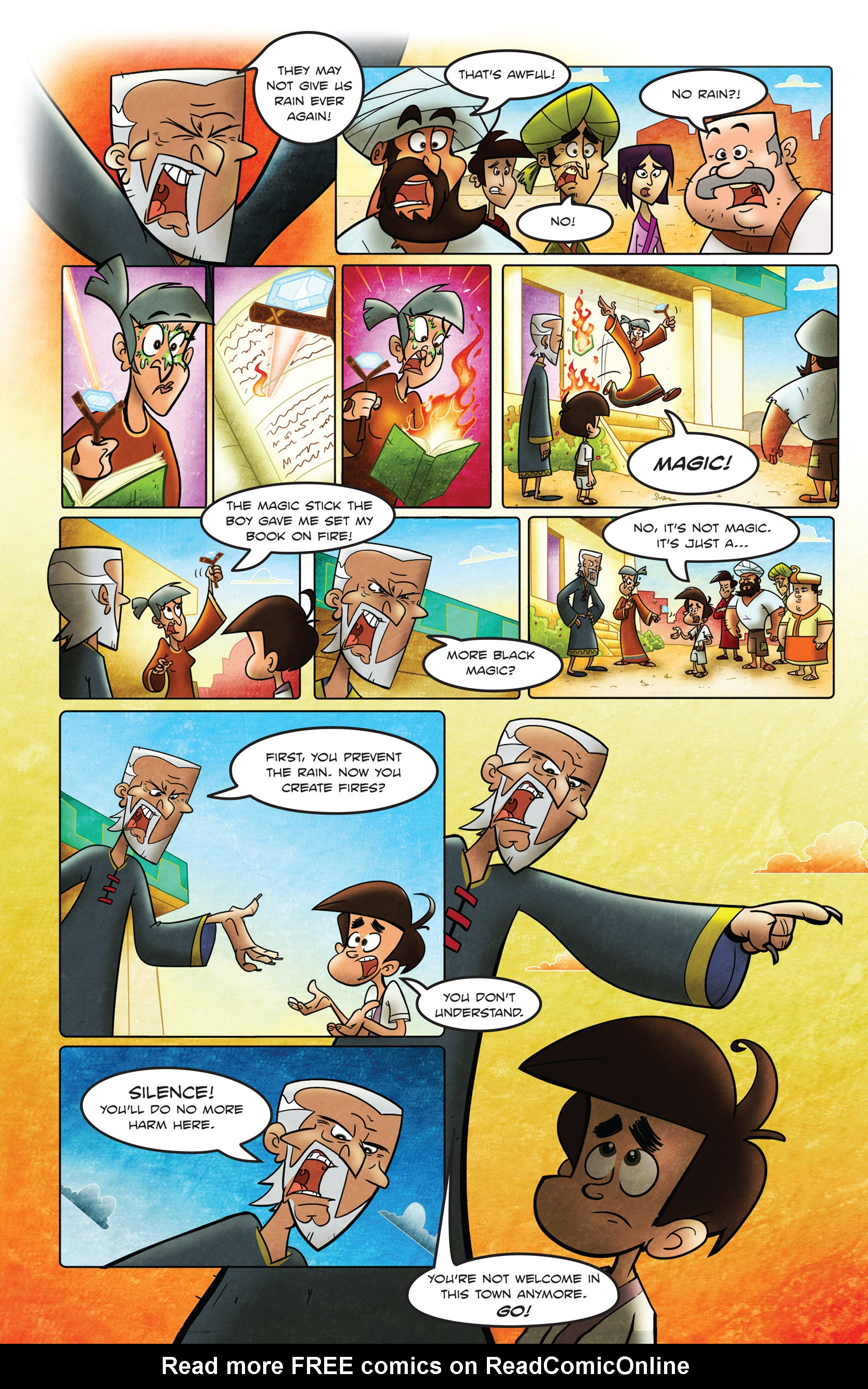 Read online 1001 Nights comic -  Issue #2 - 13