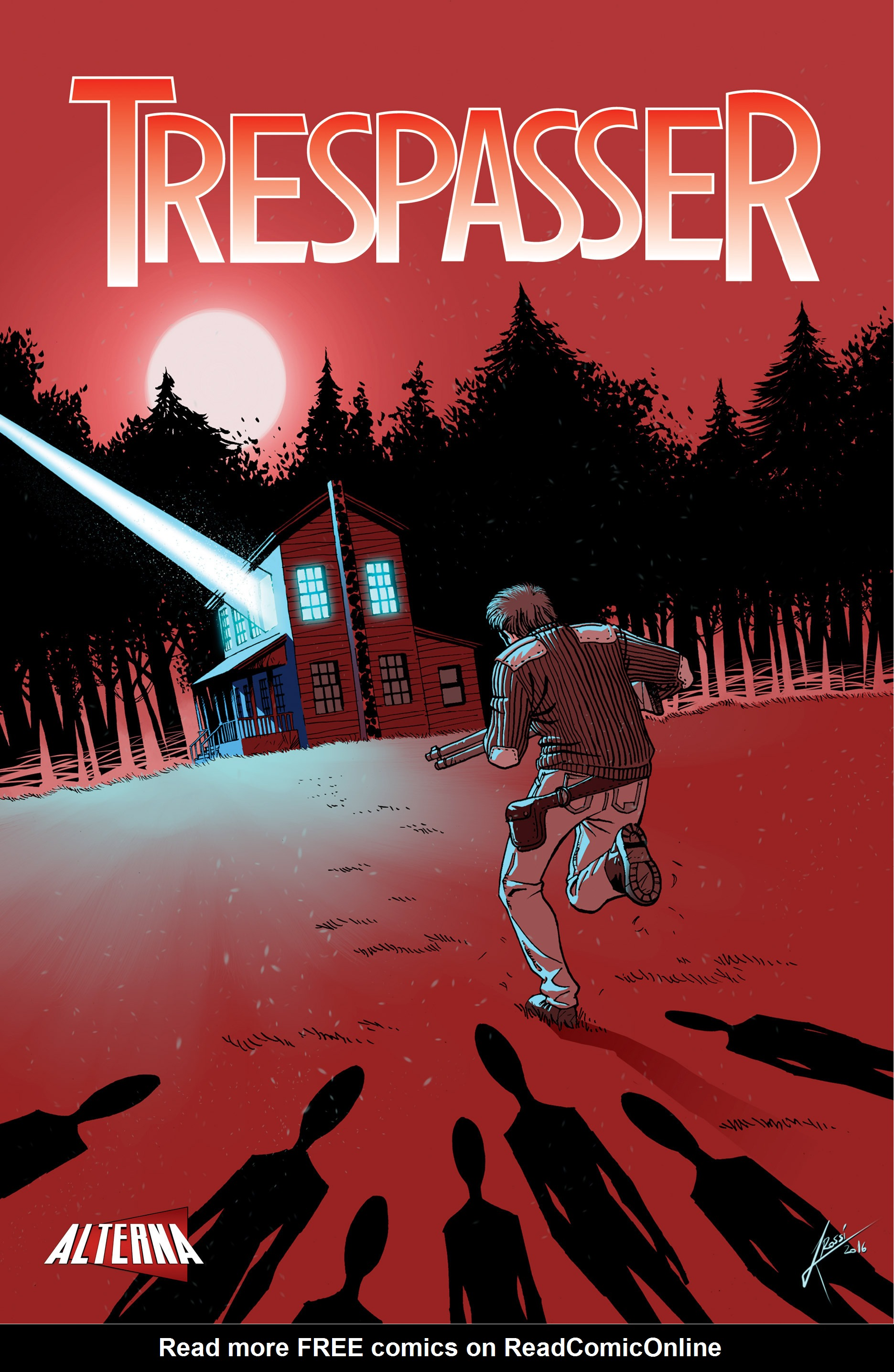 Read online Trespasser comic -  Issue #4 - 1