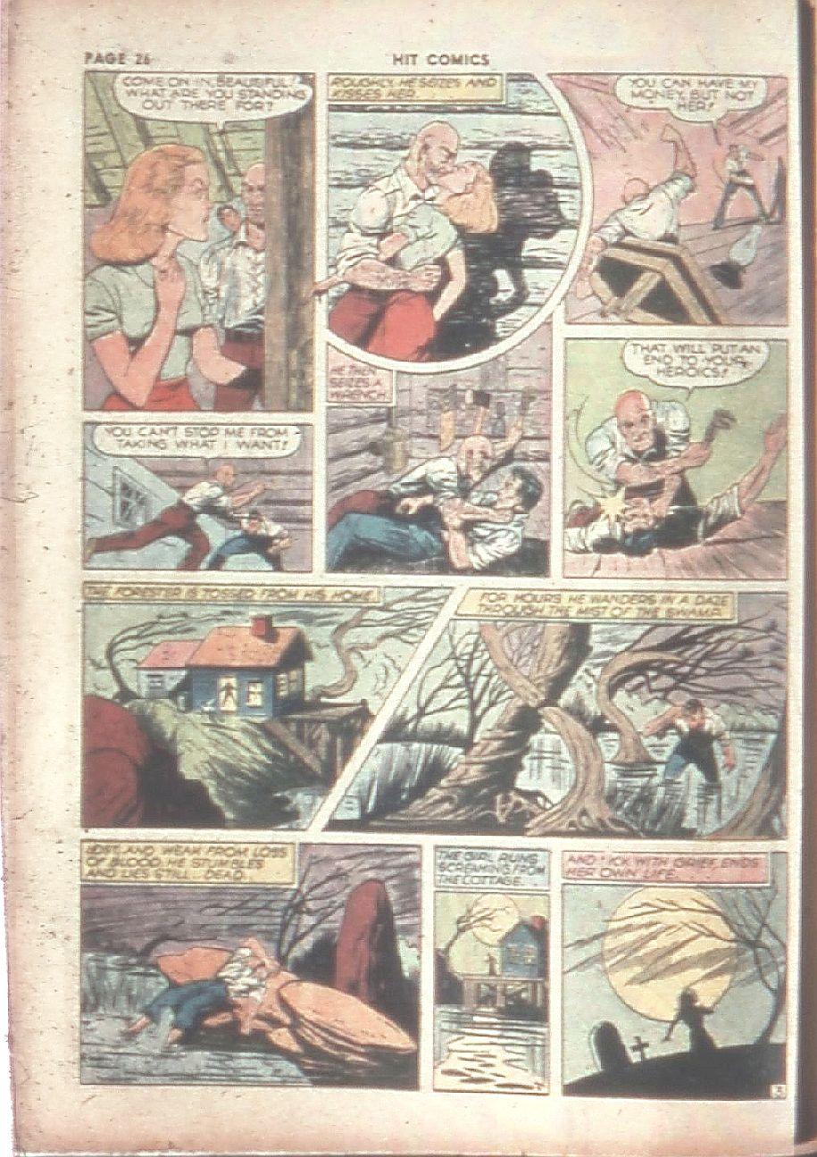 Read online Hit Comics comic -  Issue #8 - 28