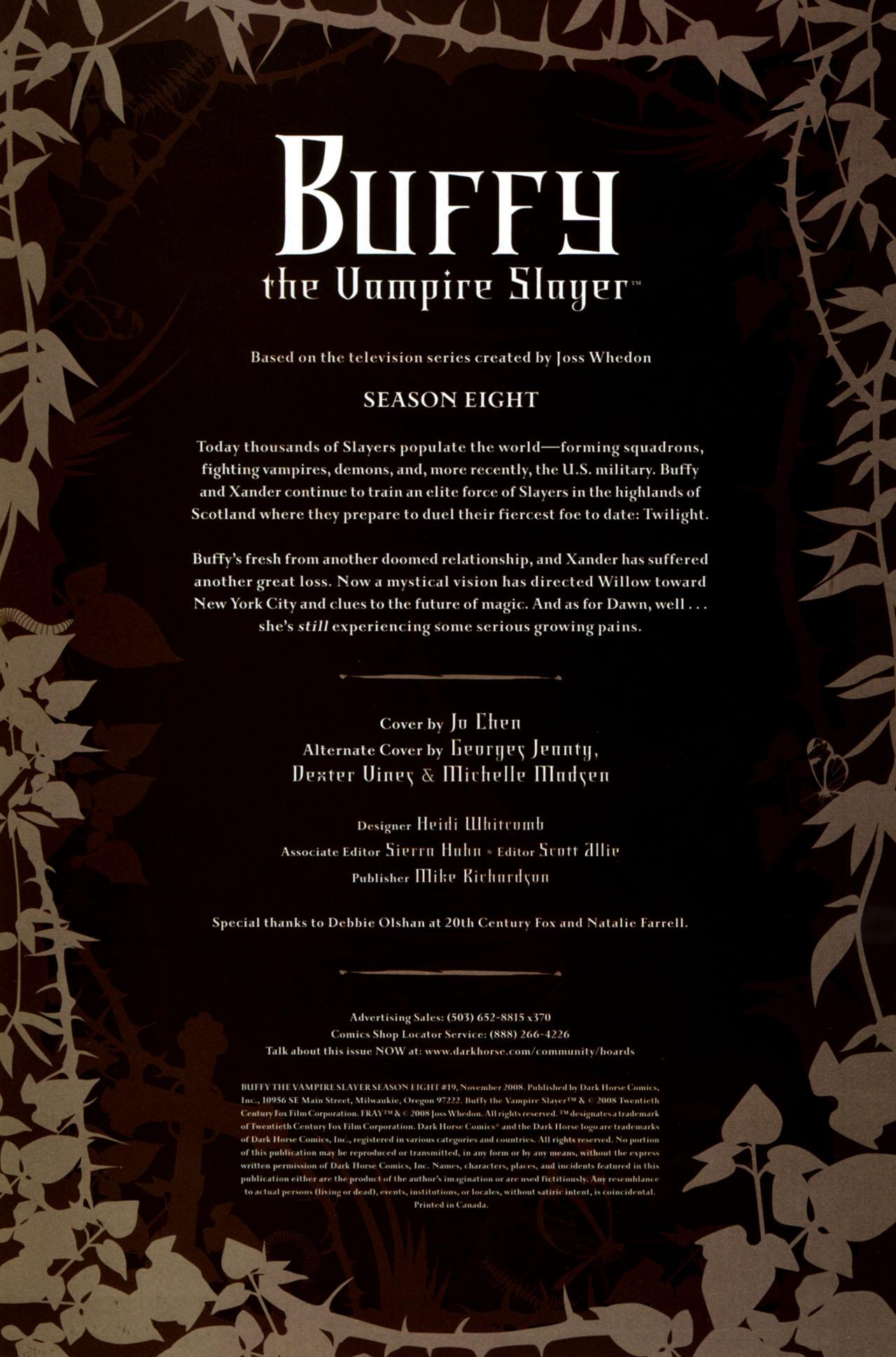 Buffy the Vampire Slayer Season Eight 19 Page 3