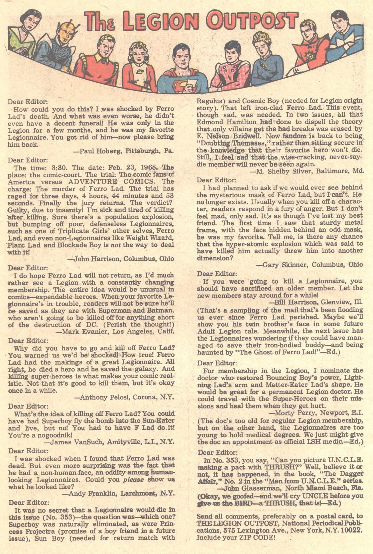 Read online Adventure Comics (1938) comic -  Issue #356 - 34