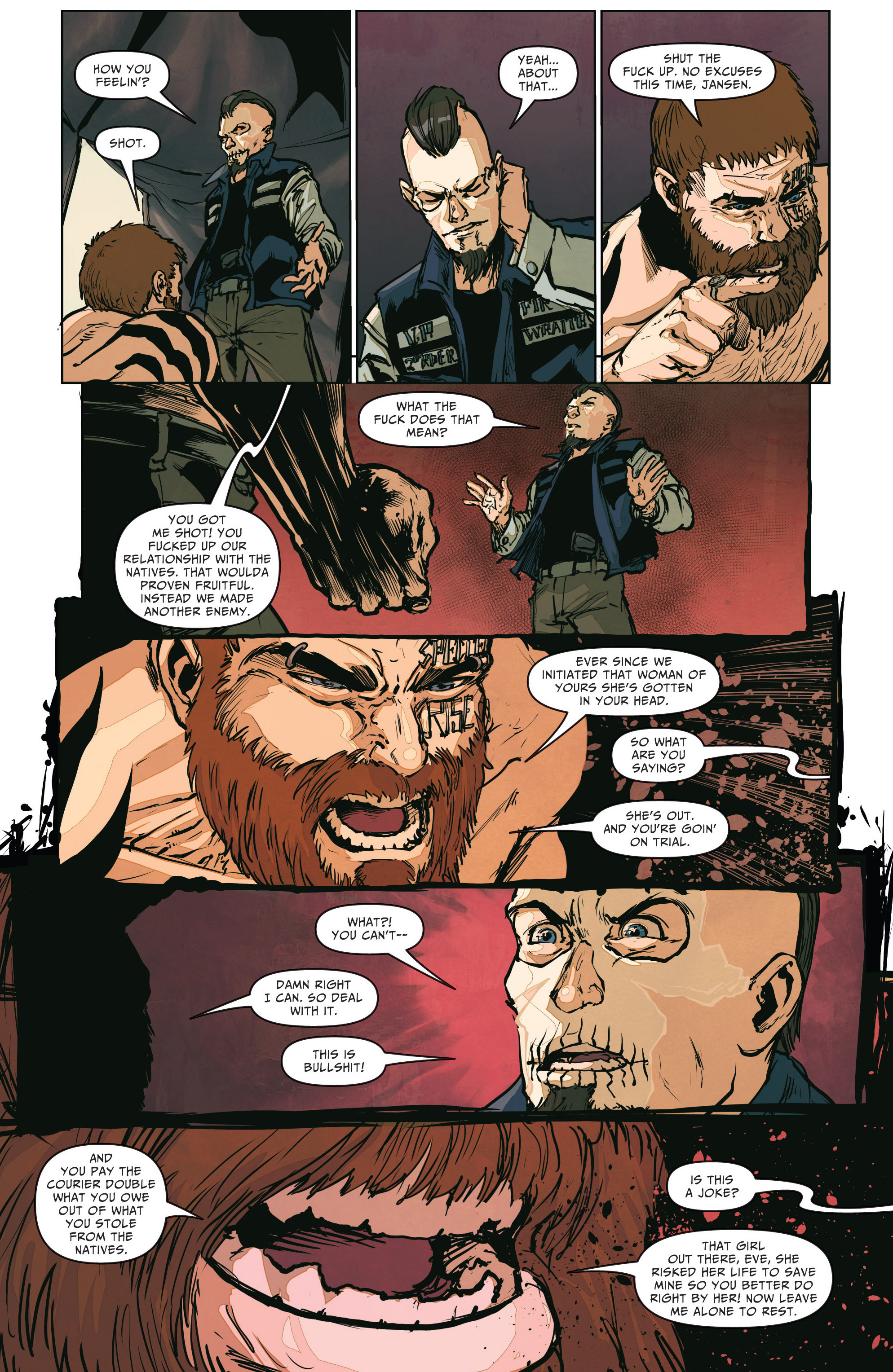 Read online The Courier comic -  Issue #2 - 16