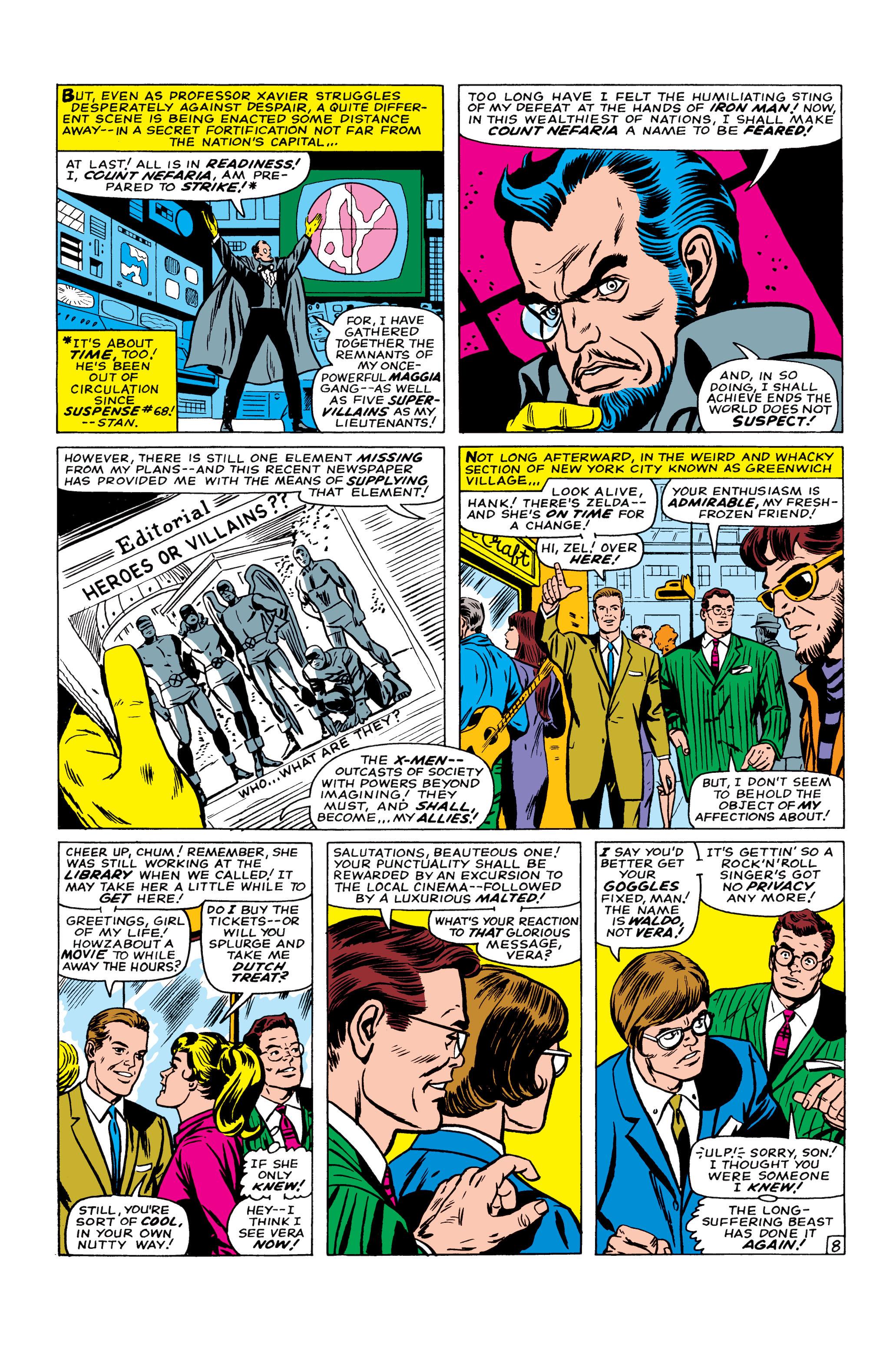 Read online Uncanny X-Men (1963) comic -  Issue #22 - 9