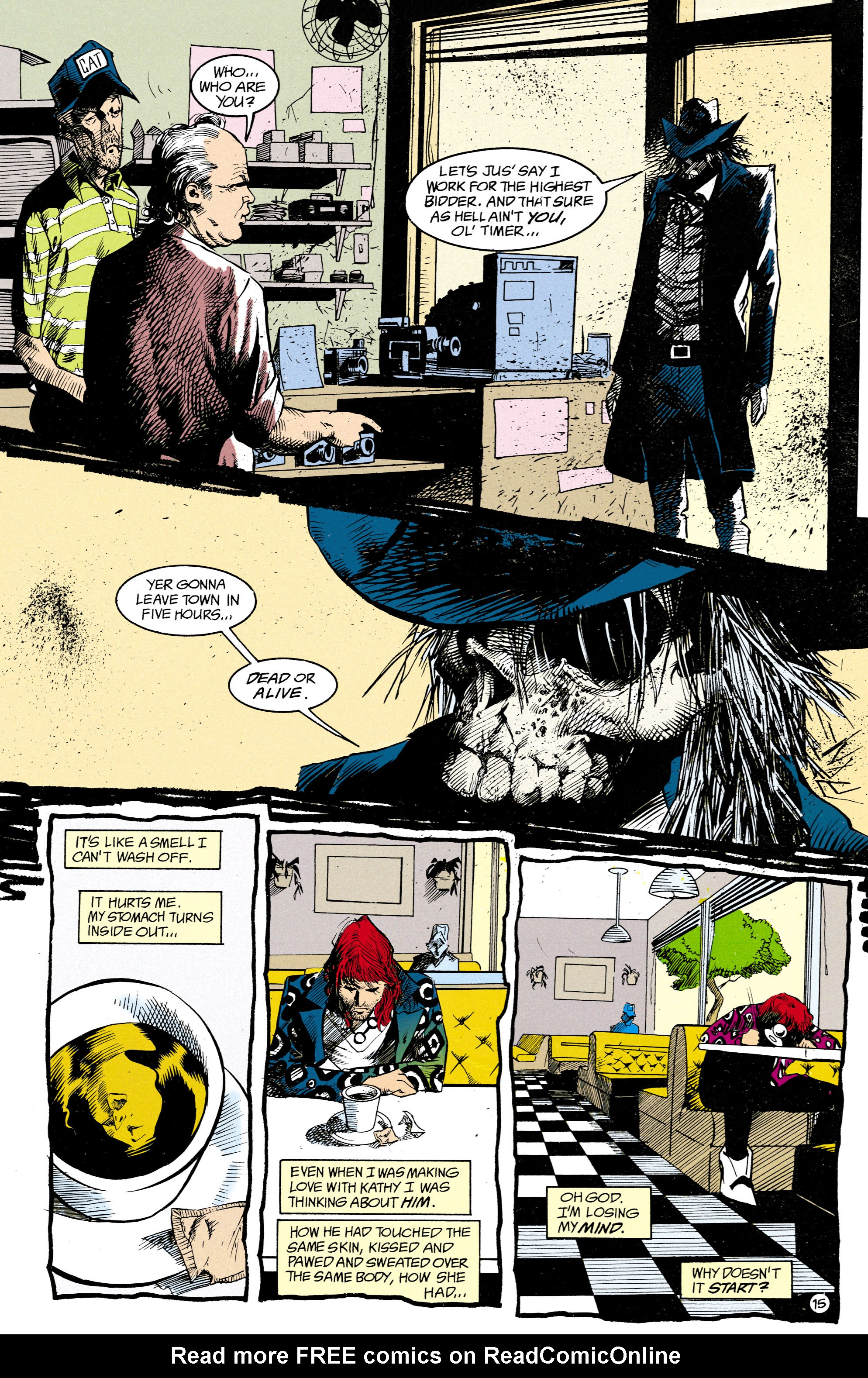 Read online Shade, the Changing Man comic -  Issue #15 - 11