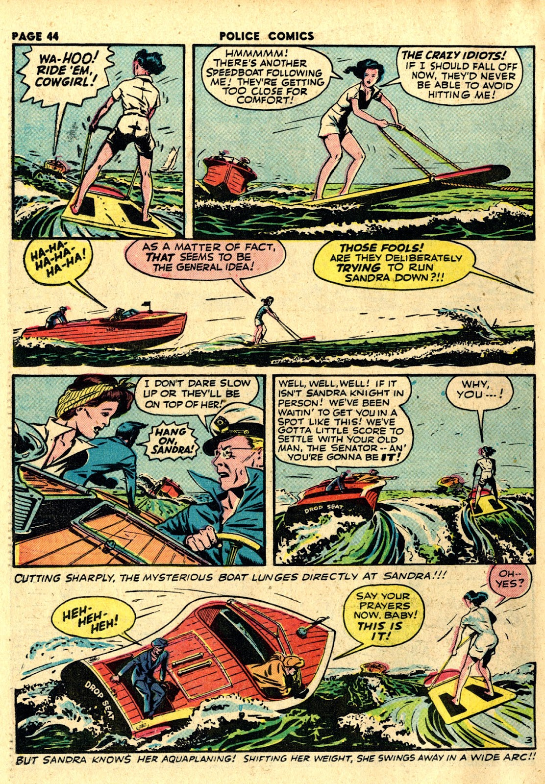 Police Comics issue 19 - Page 46