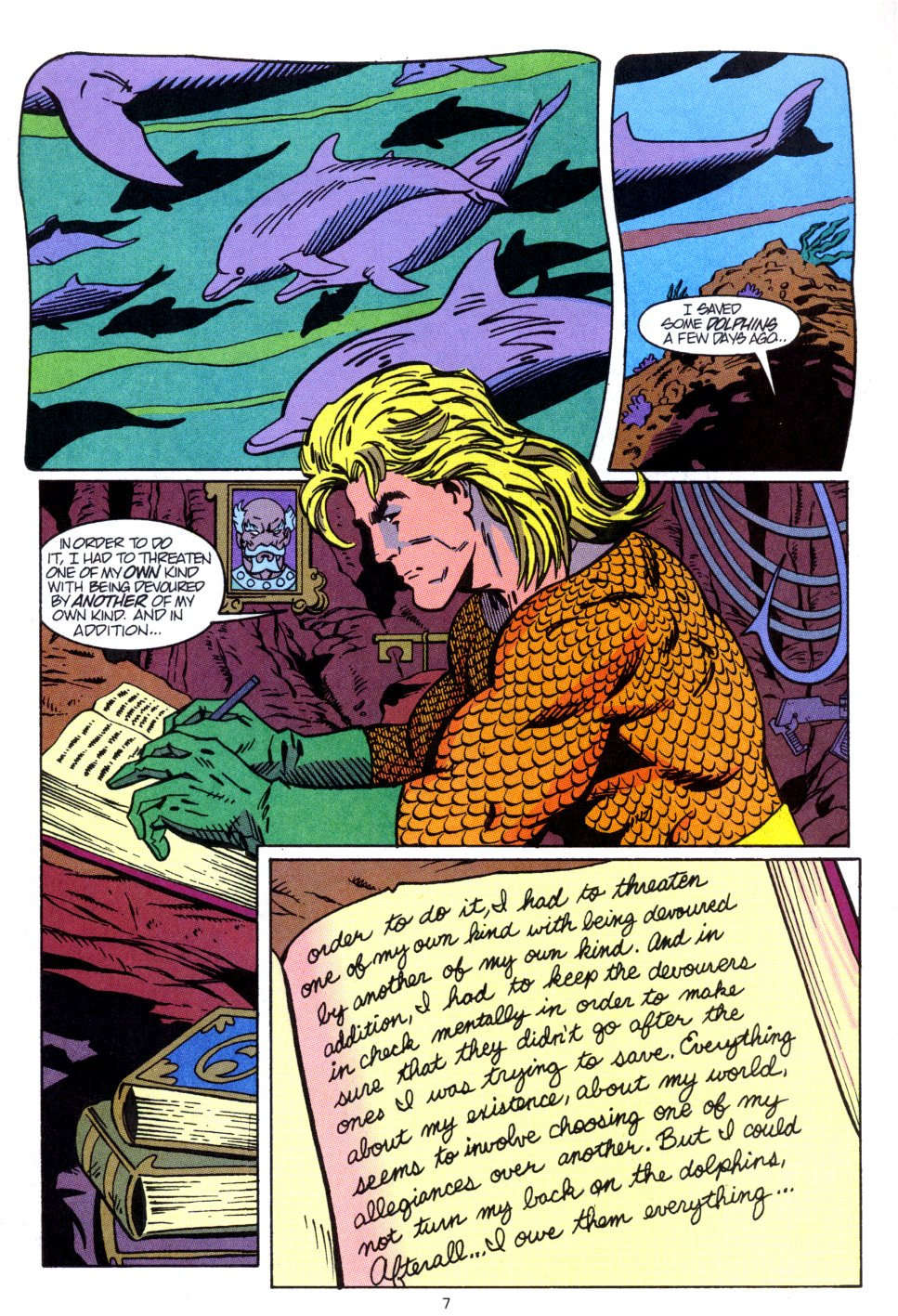 Read online Aquaman: Time and Tide comic -  Issue #2 - 8