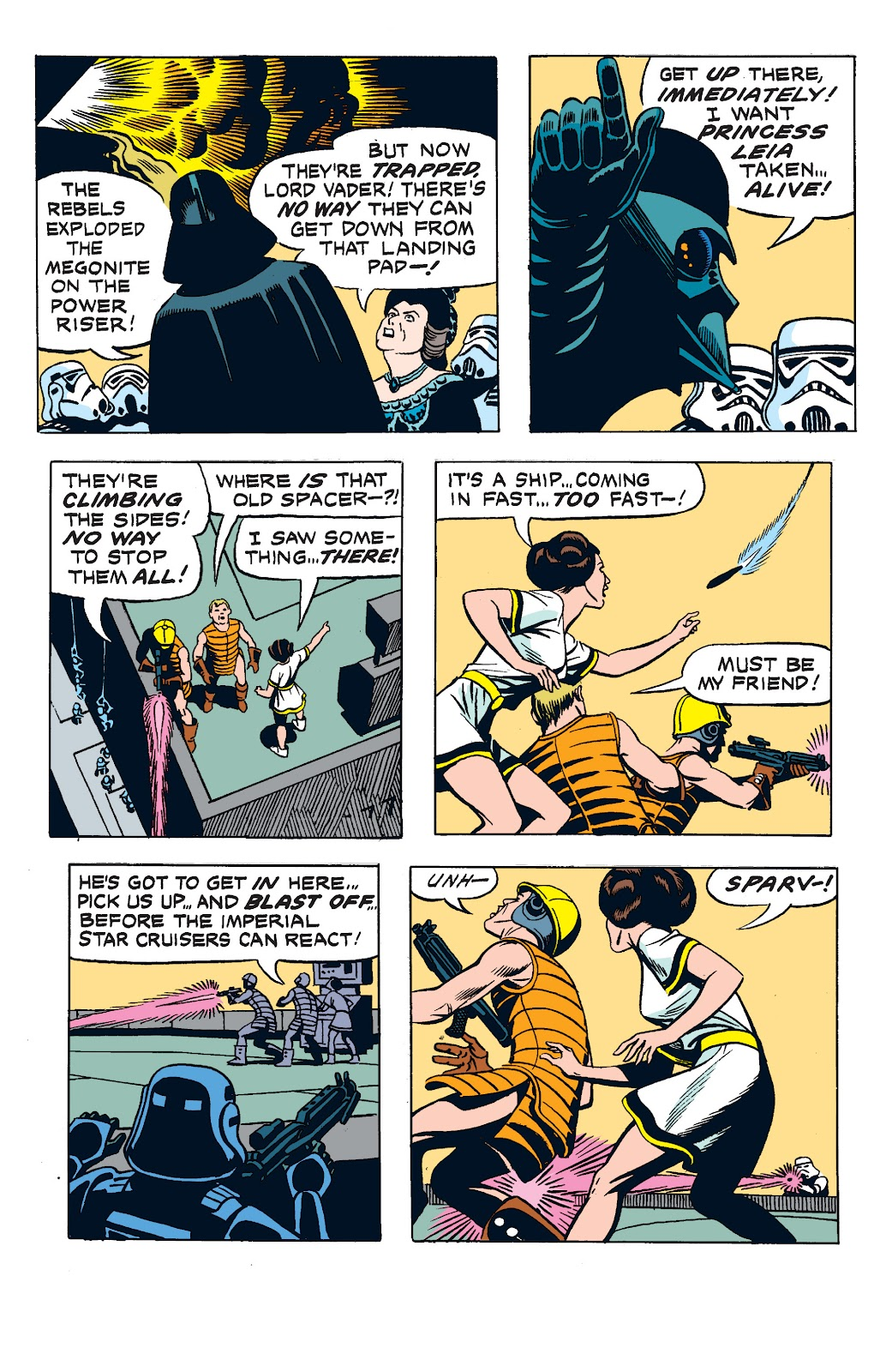 Read online Star Wars Legends: The Newspaper Strips - Epic Collection comic -  Issue # TPB (Part 2) - 71