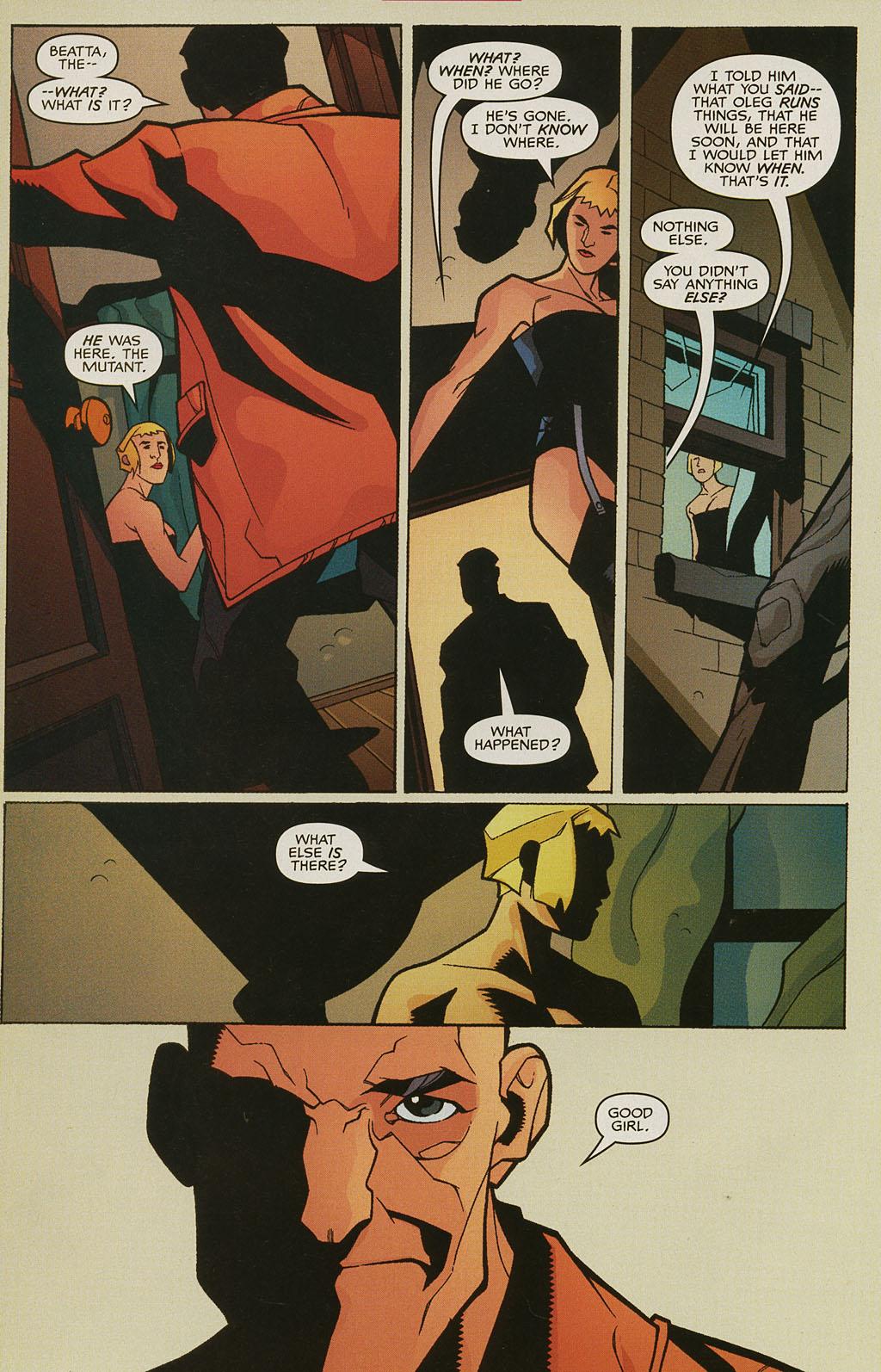 Read online Nightcrawler (2002) comic -  Issue #3 - 8