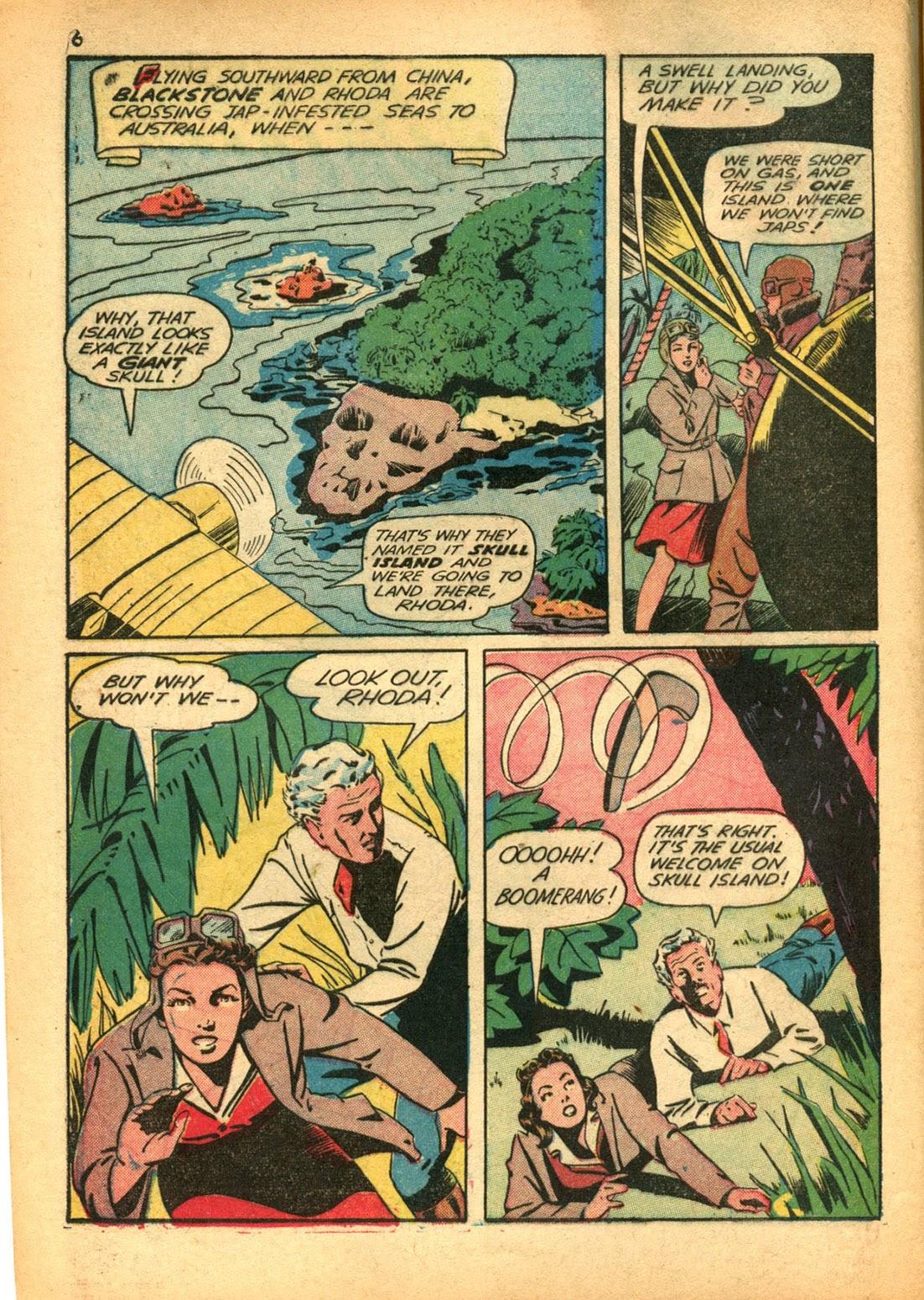 Read online Super-Magician Comics comic -  Issue #15 - 6
