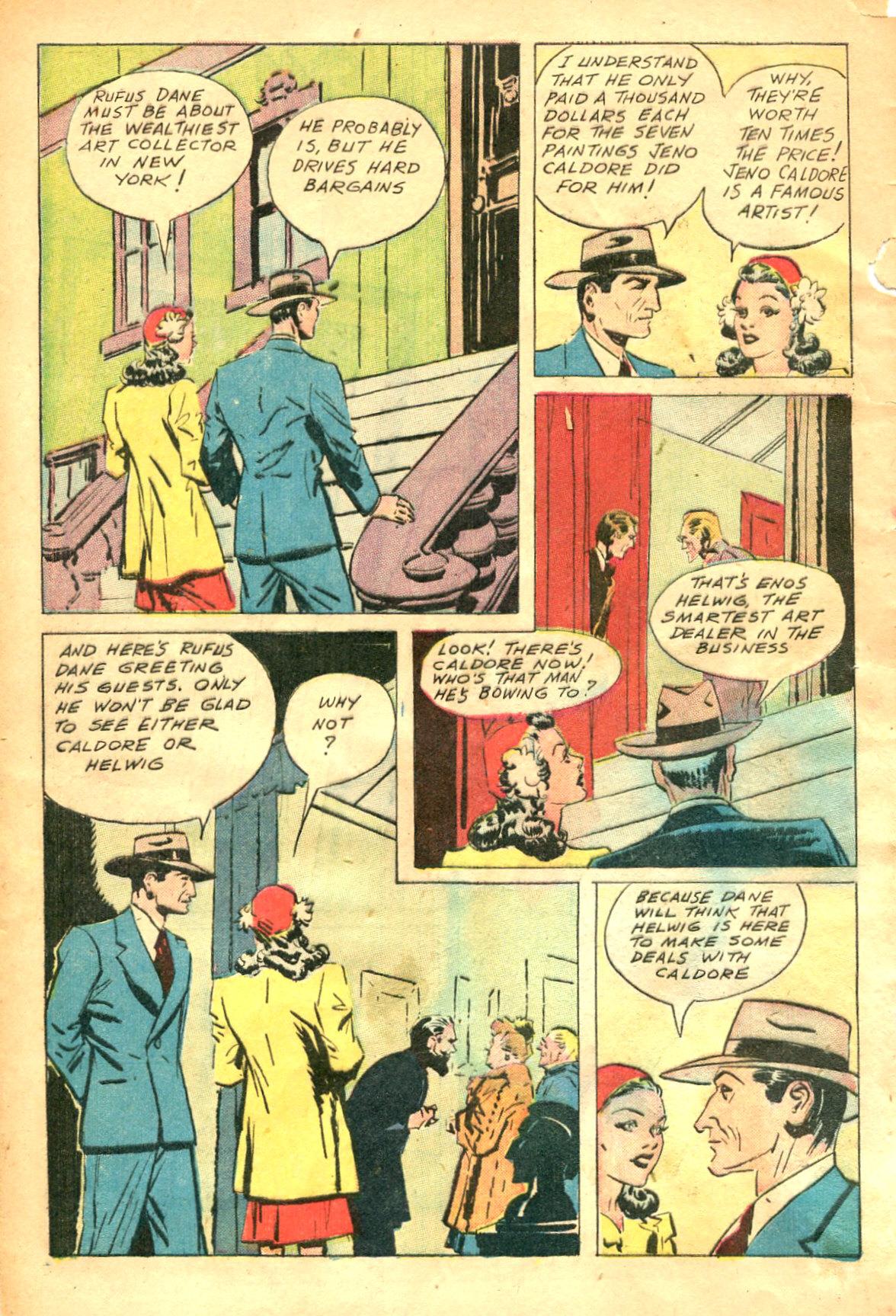 Read online Shadow Comics comic -  Issue #47 - 5