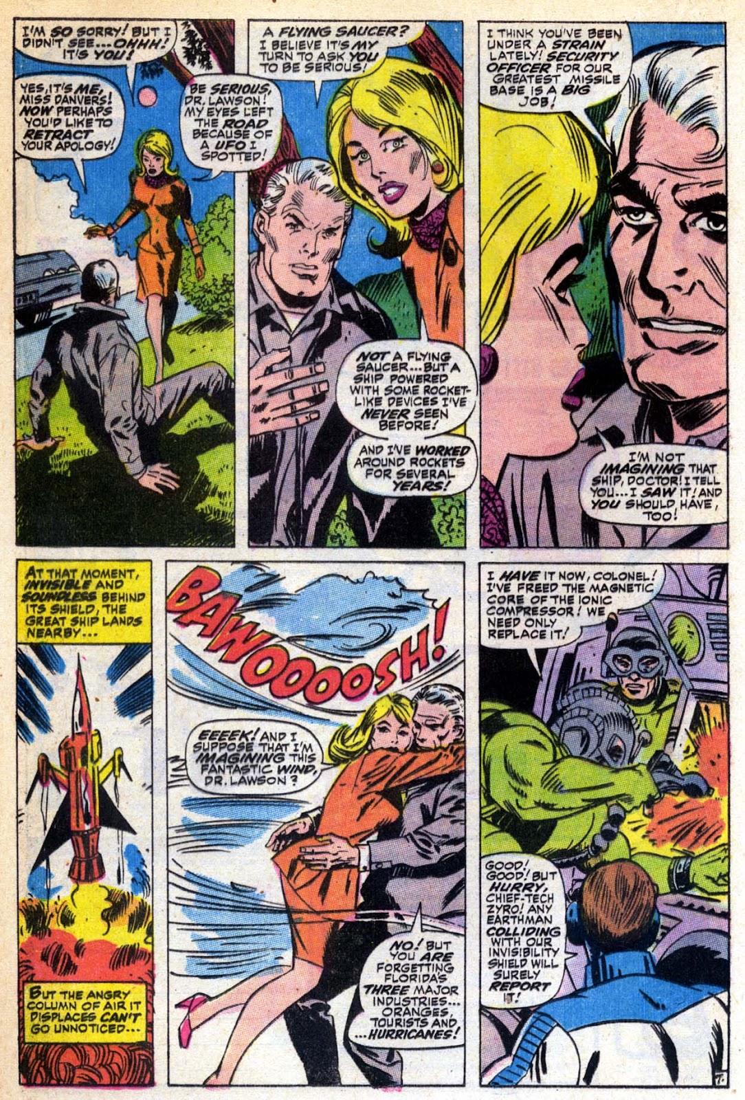 Captain Marvel (1968) Issue #6 #6 - English 8
