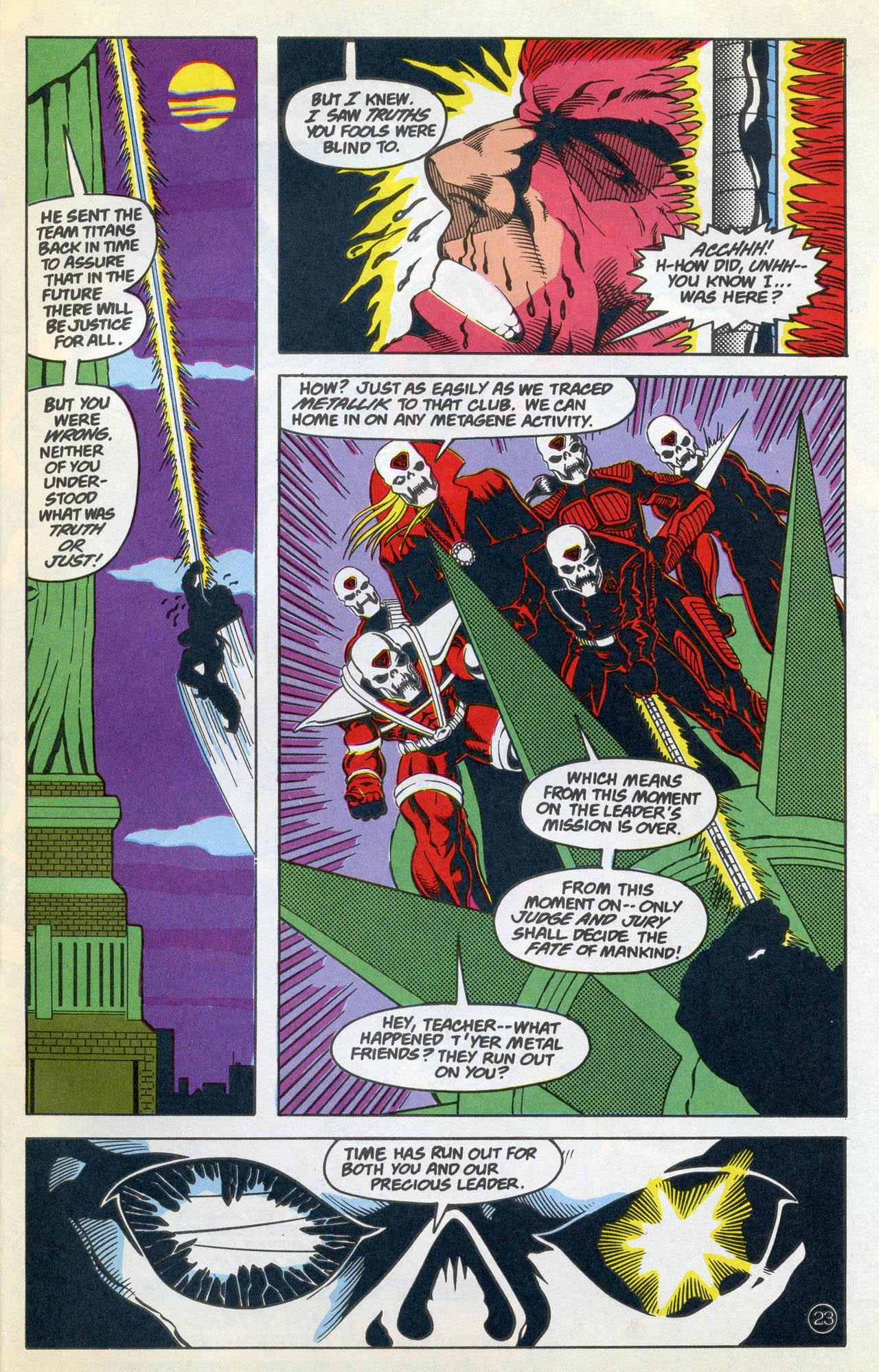 Read online Team Titans comic -  Issue #4 - 29
