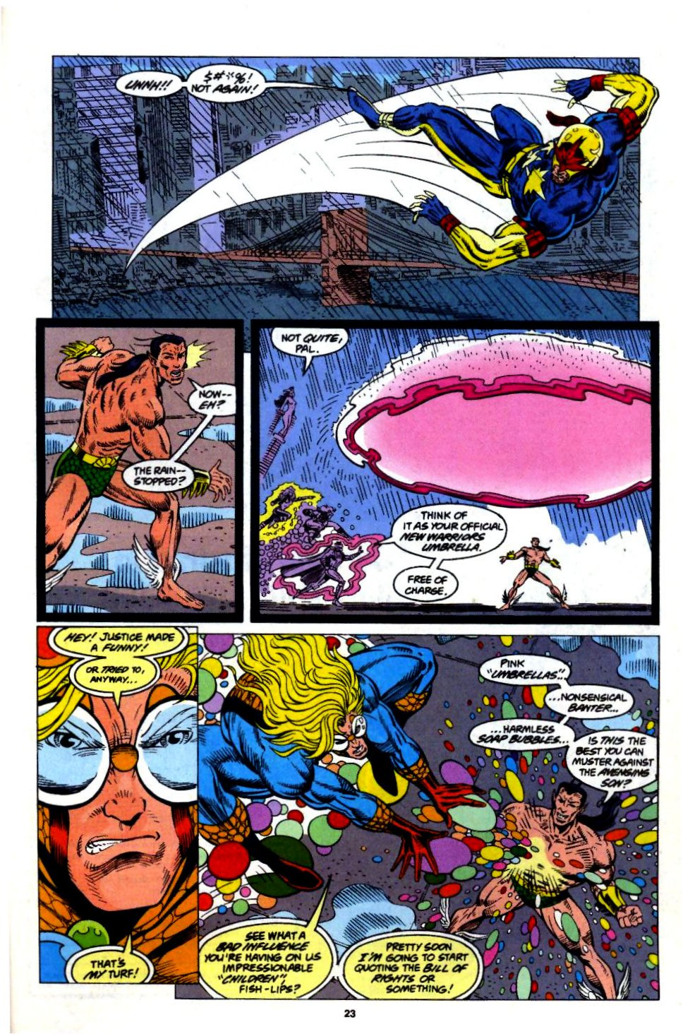 The New Warriors Issue #57 #61 - English 19