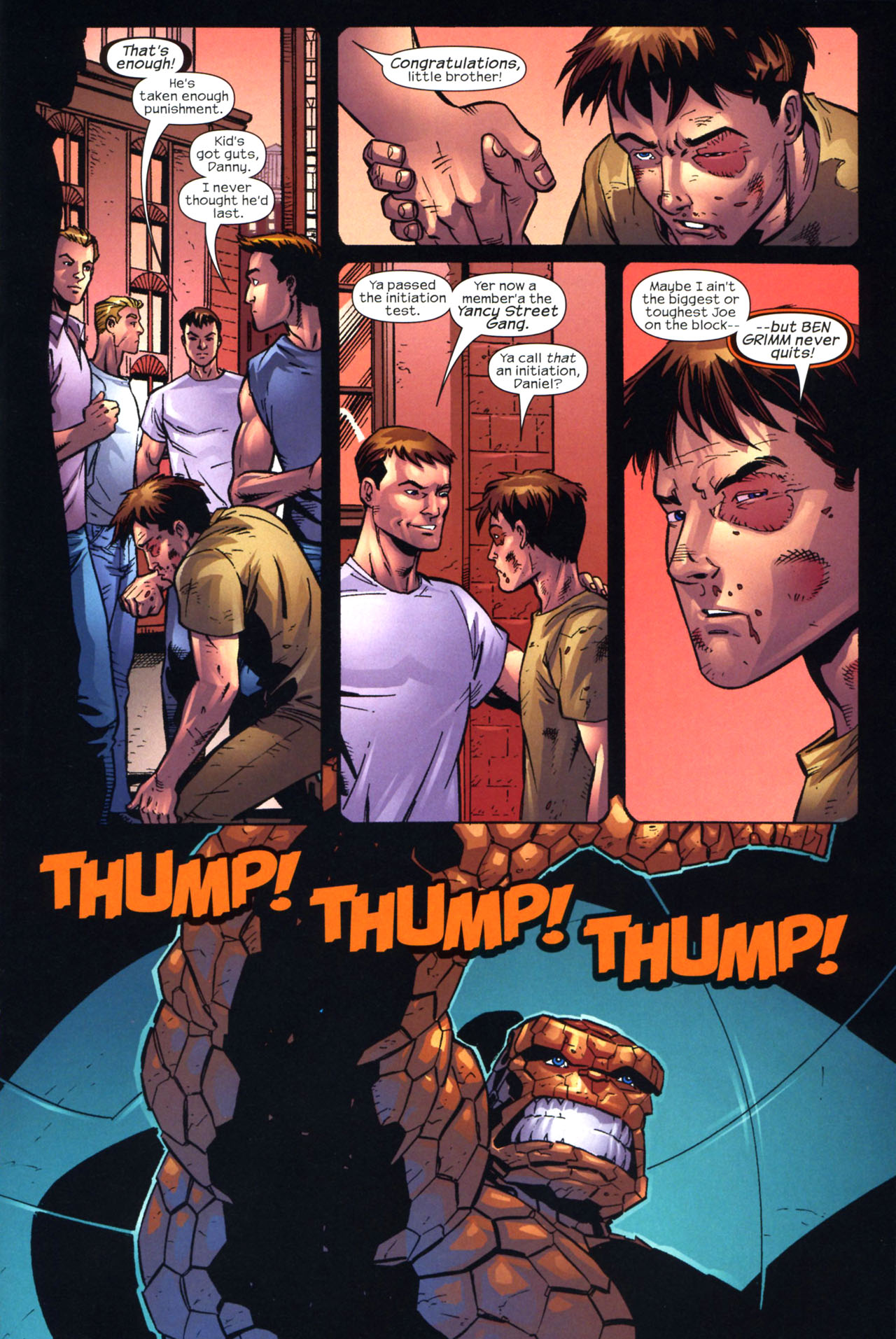 Read online Fantastic Five (2007) comic -  Issue #2 - 7