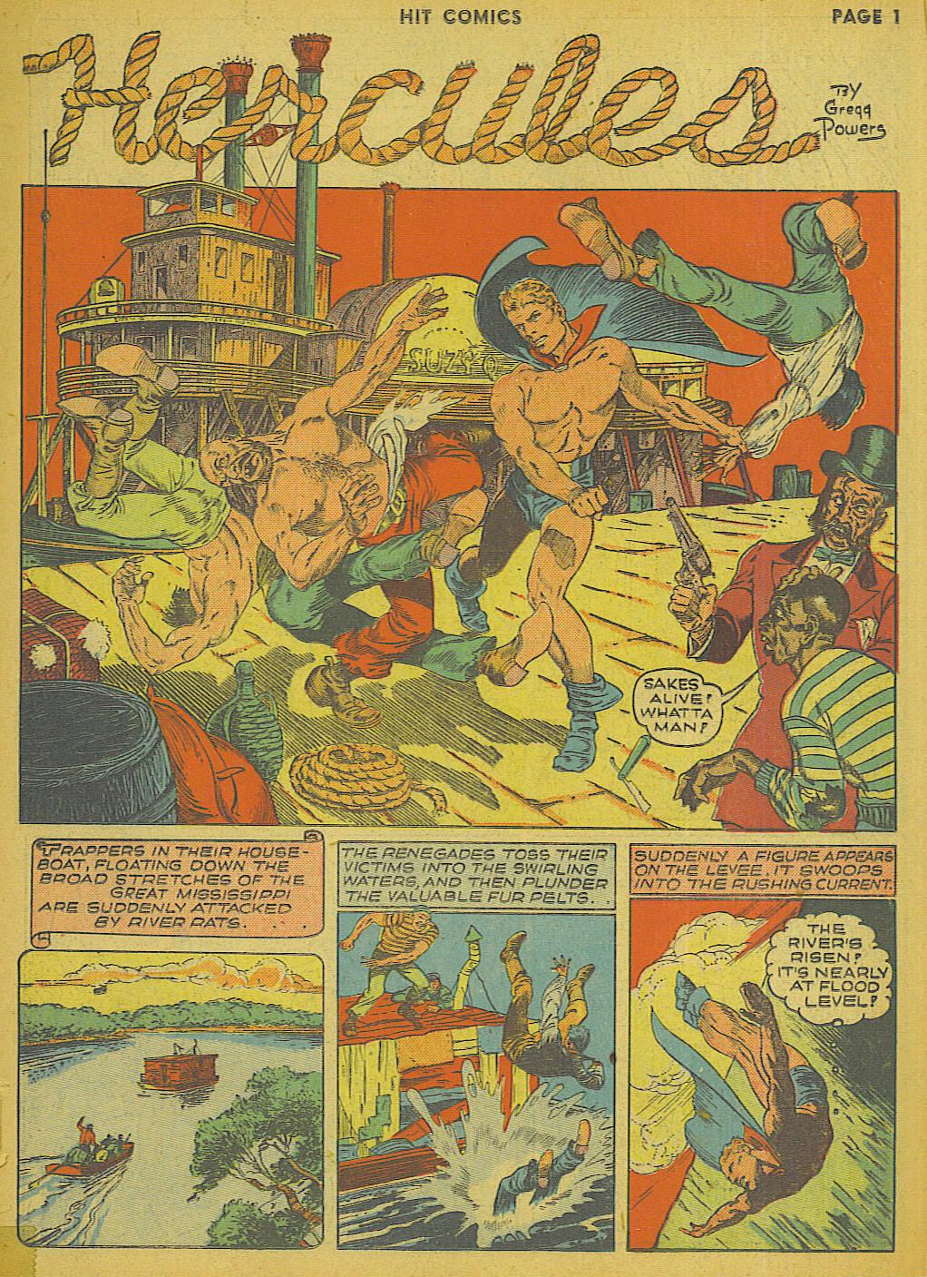 Read online Hit Comics comic -  Issue #13 - 3