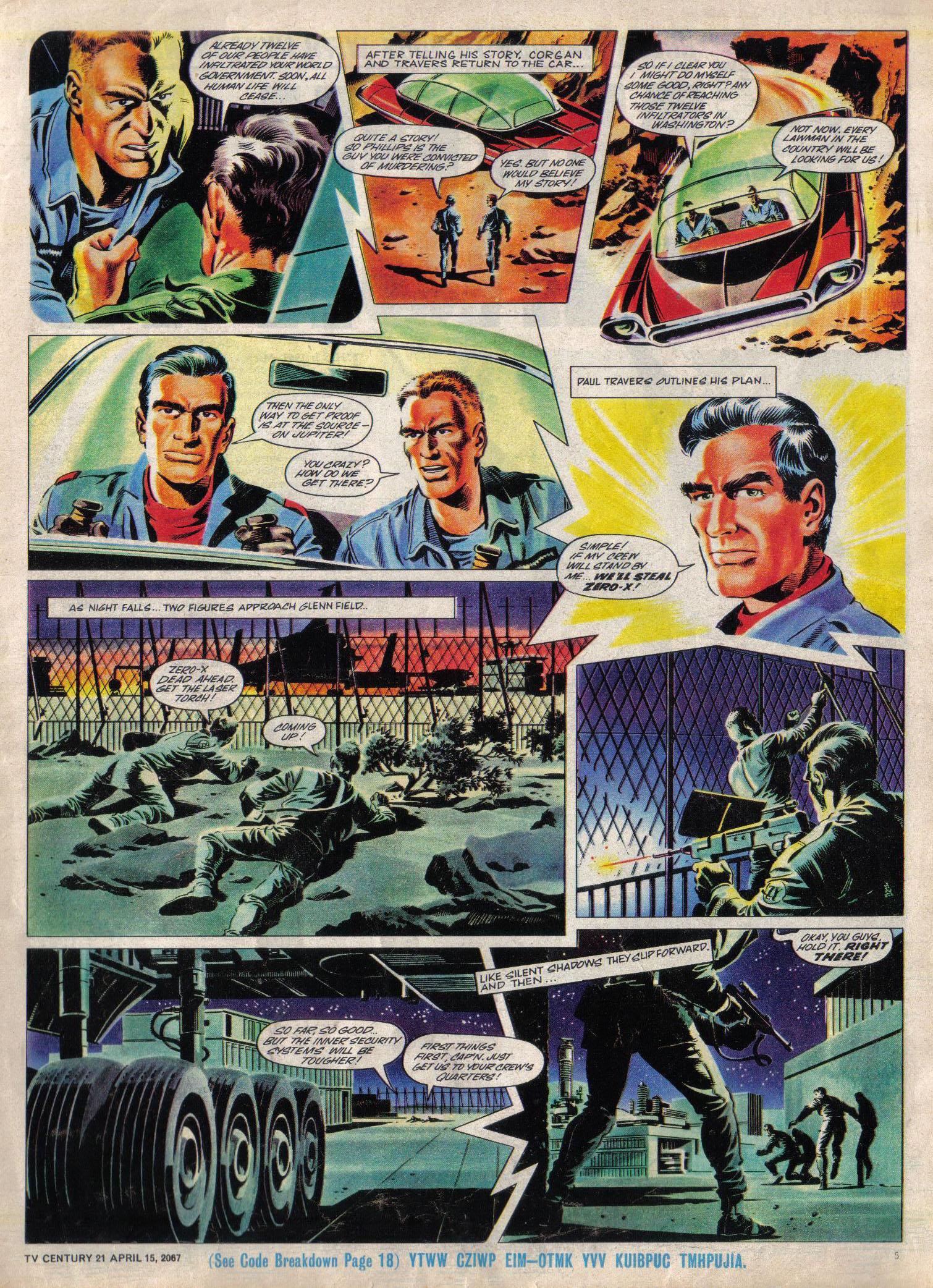 Read online TV Century 21 (TV 21) comic -  Issue #117 - 5