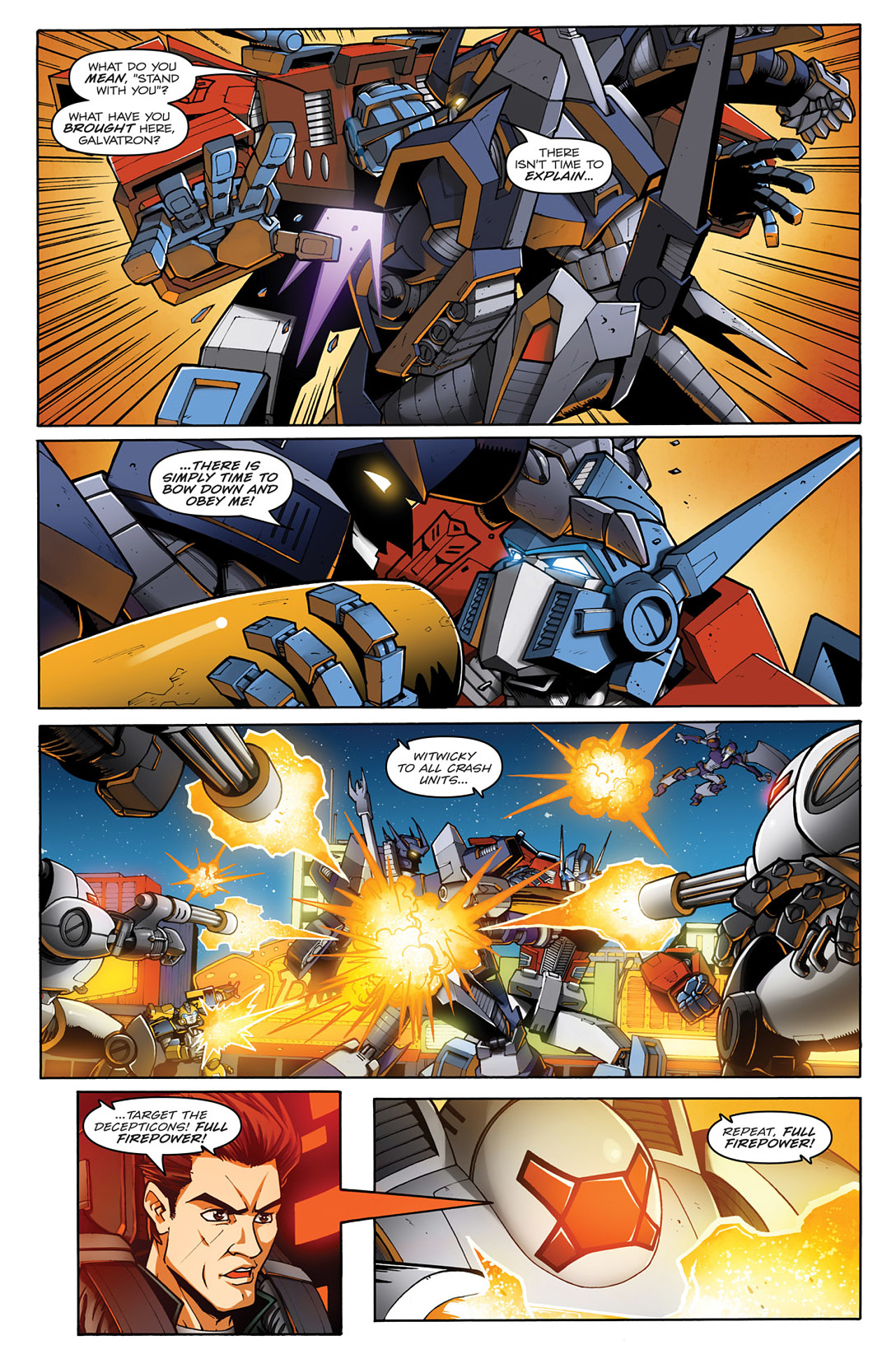Read online Transformers: Infestation comic -  Issue #1 - 13